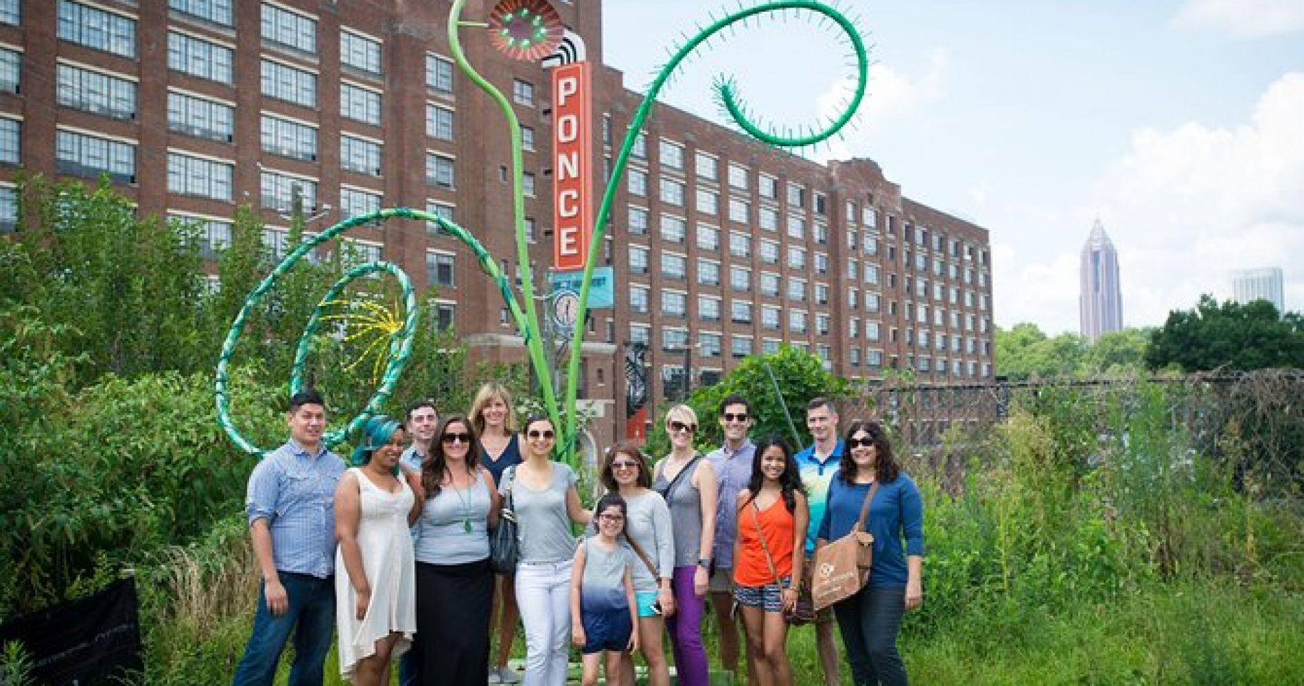 Ponce City Market Food, History and Street Art Tour