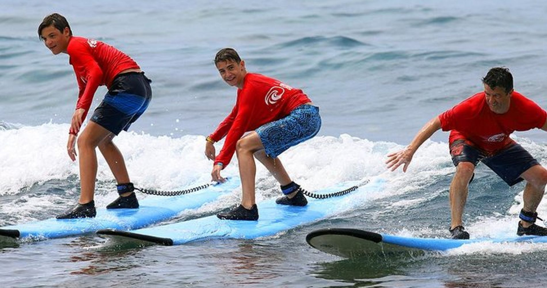 Group Surf Lesson in Kona Hawaii