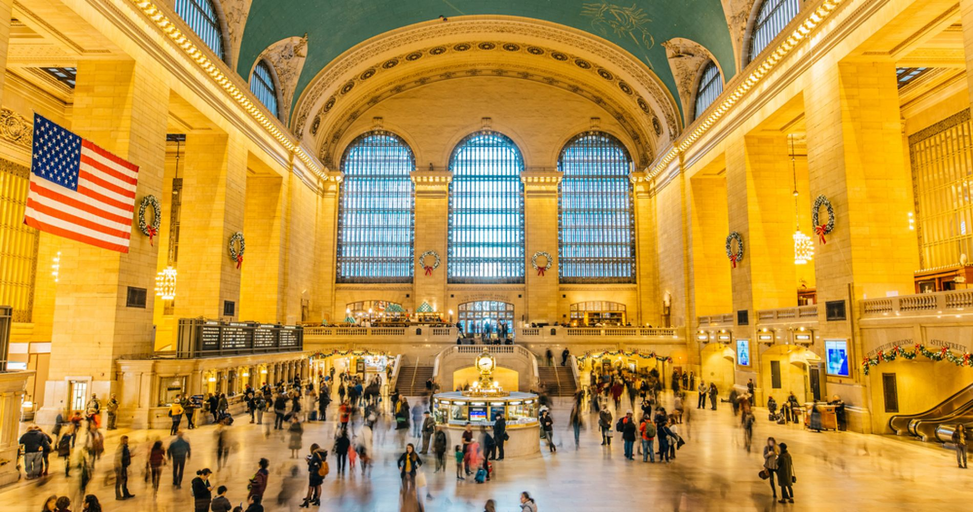 Explore the magnificent Grand Central Station in New York