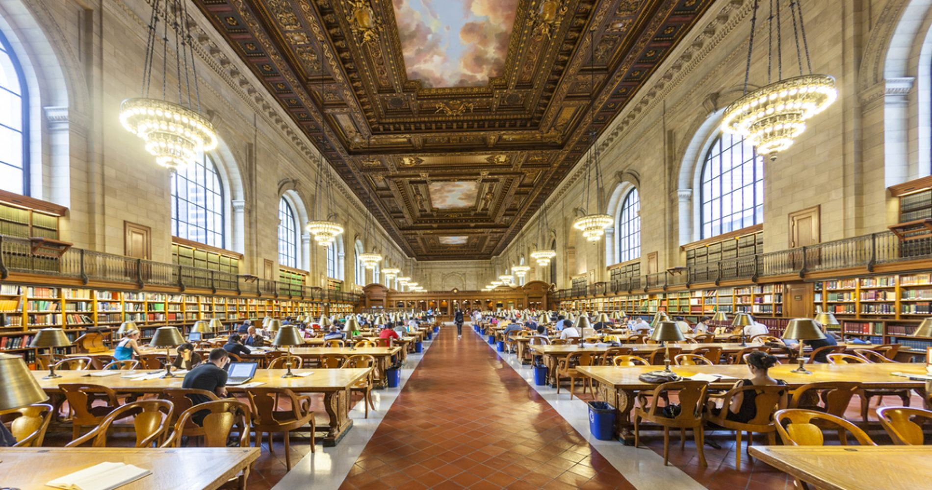 Take a Tour of the New York Public Library