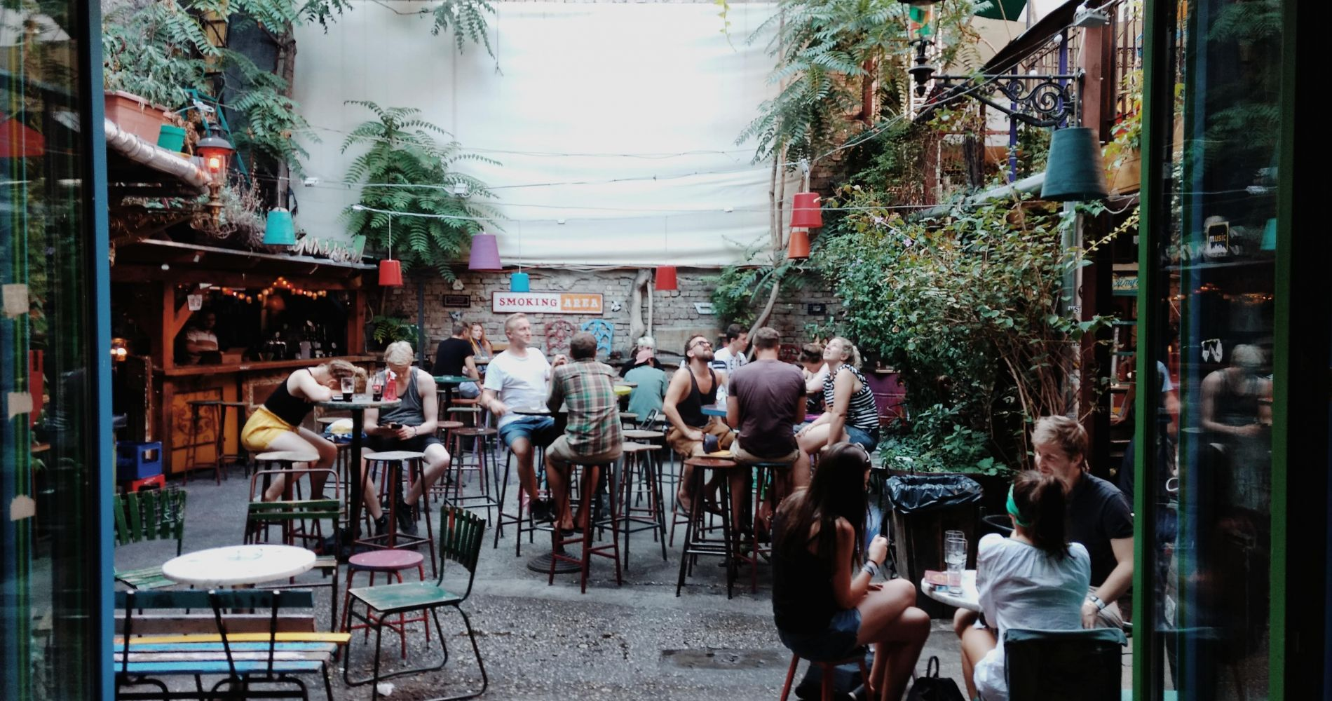 Explore the Mysterious Ruin Bars of Budapest