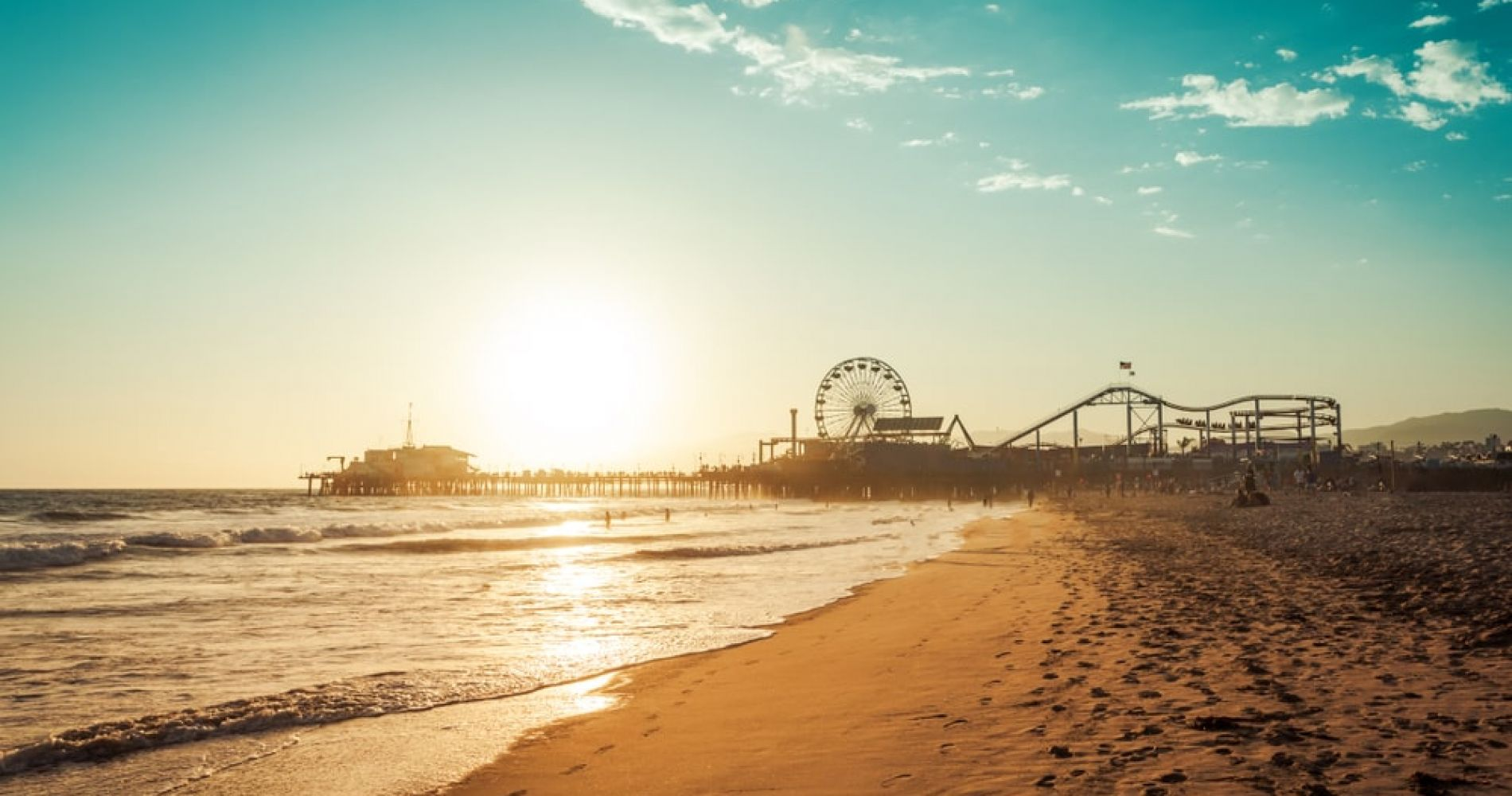 Hit Santa Monica or any other Beach in Los Angeles
