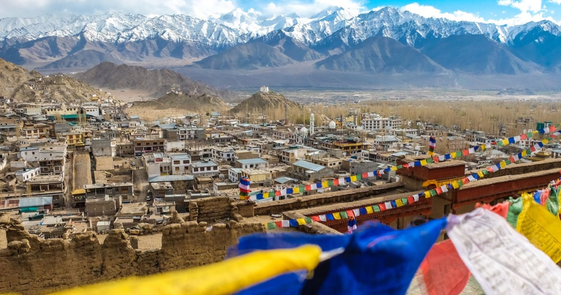 Soak up the spirit of the Himalayas in Leh, India