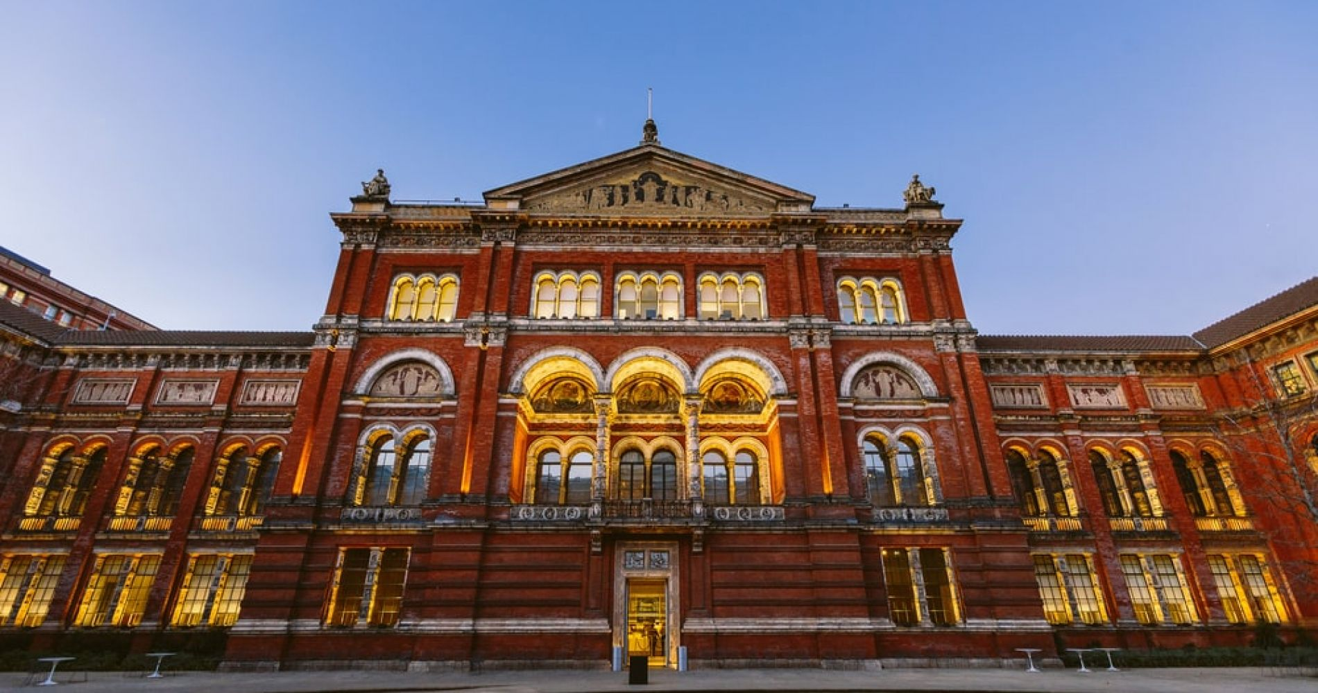 Visit the iconic Victoria and Albert Museum in London