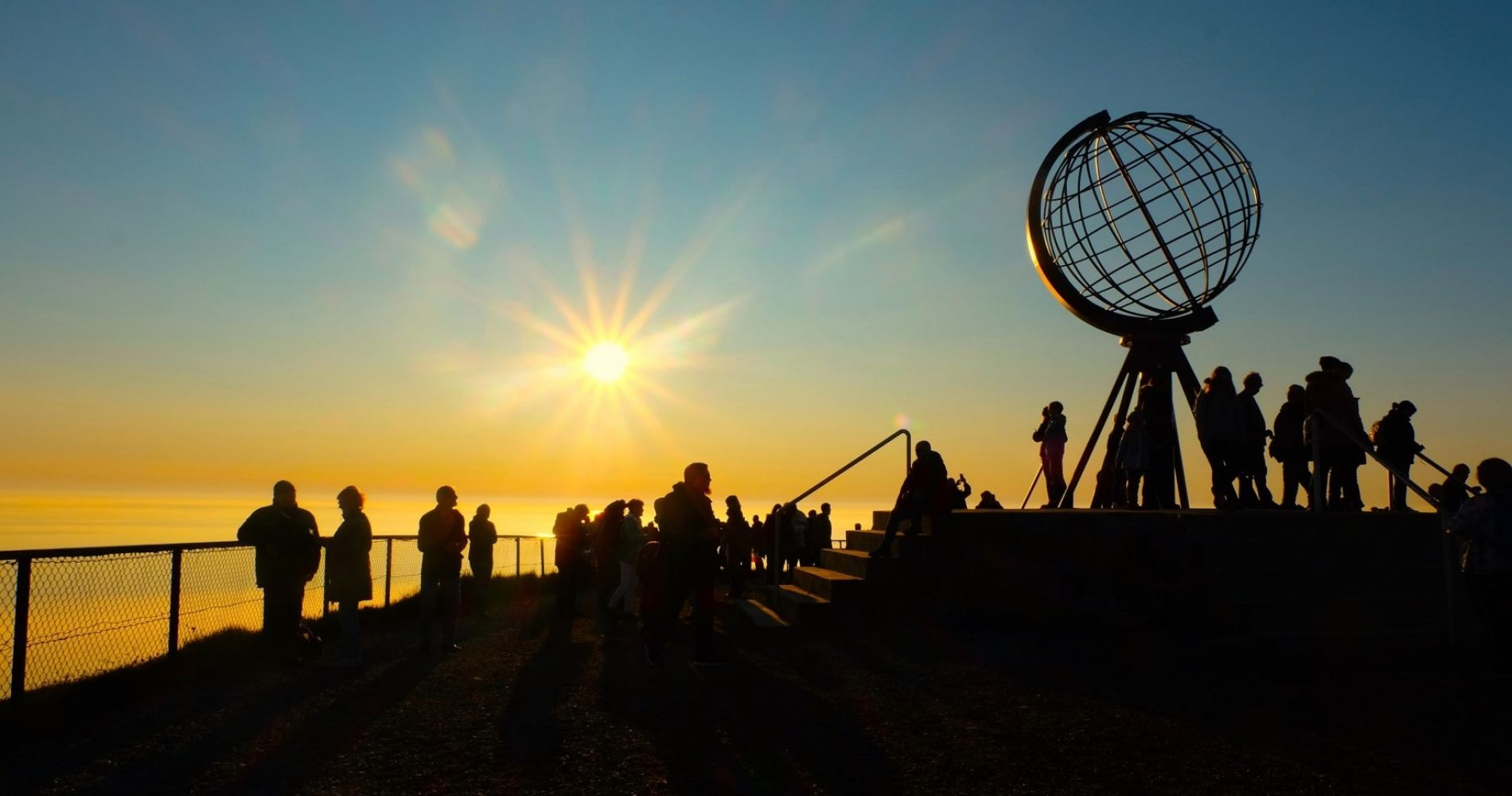 Discover most northerly point in Europe - North Cape, Norway