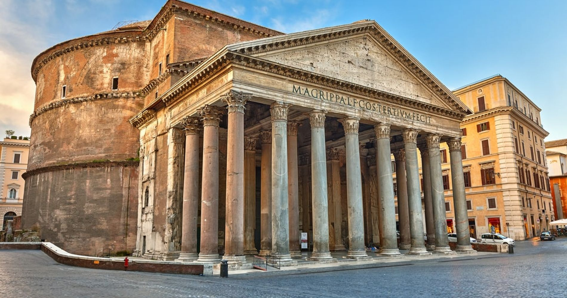 Marvel at the Iconic Temple Pantheon