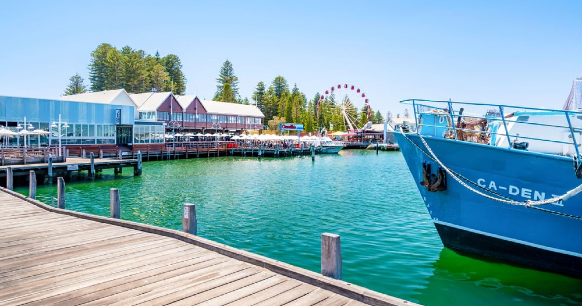 Check out the Quirky Old Port in Fremantle