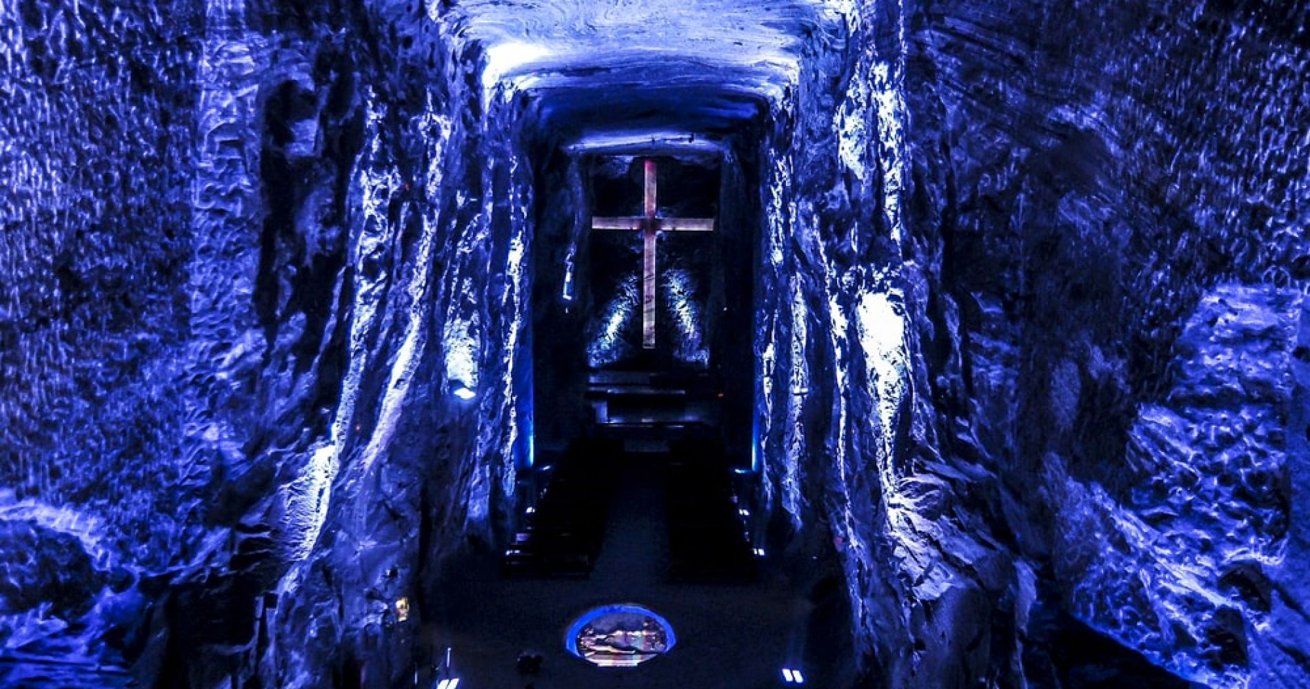 Pray in the Salt Cathedral of Zipaquirá