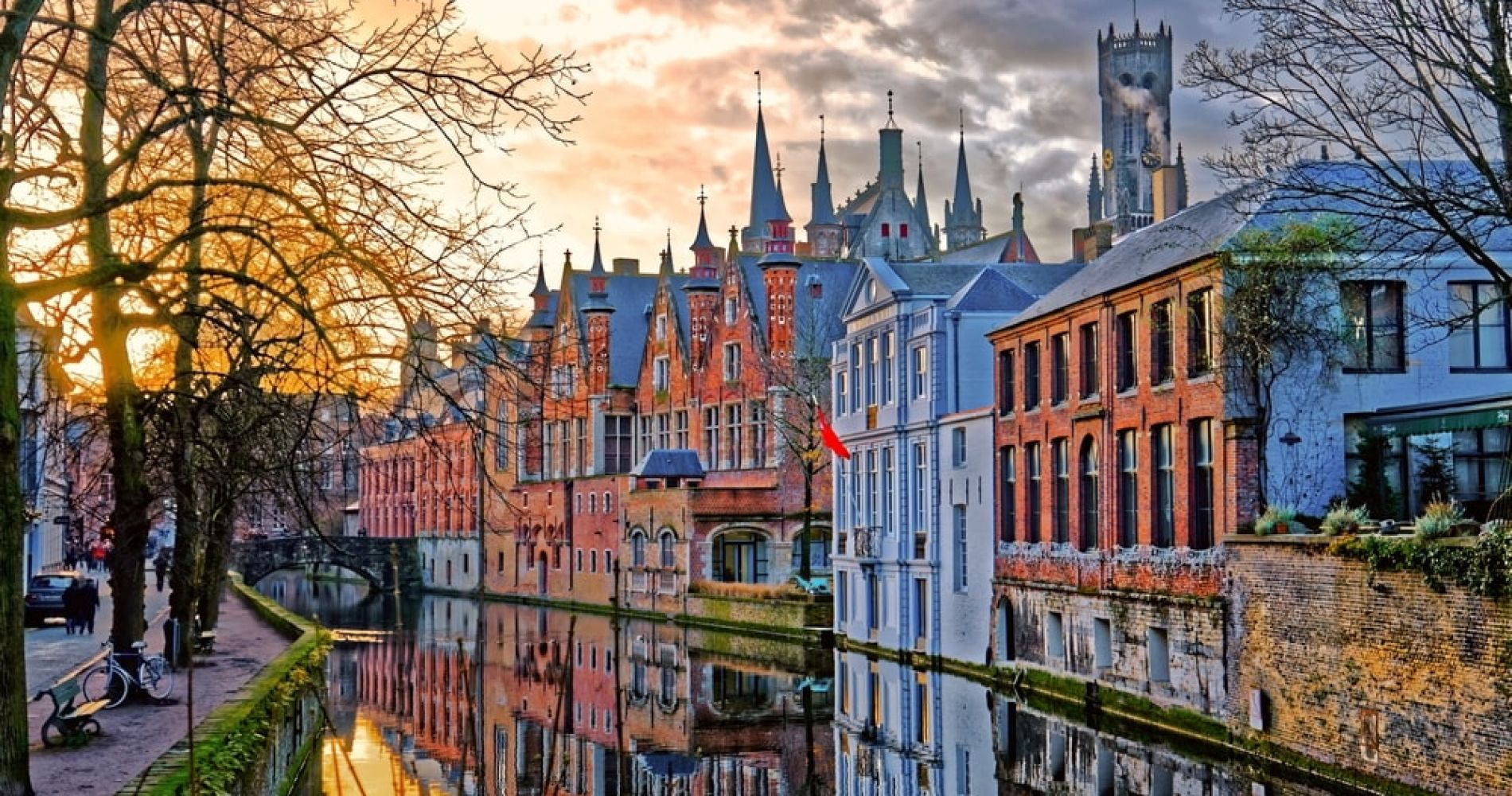 Wander through Bruges Old Town