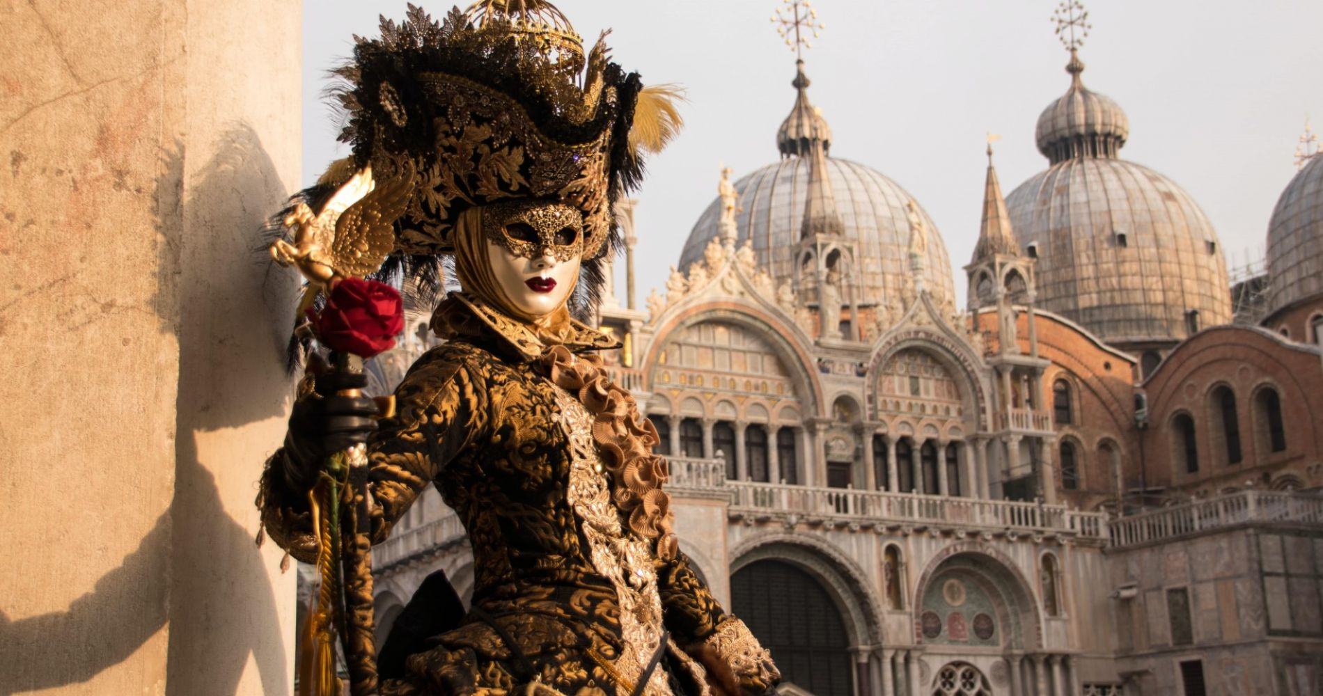 Visit Venice during the world famous carnival