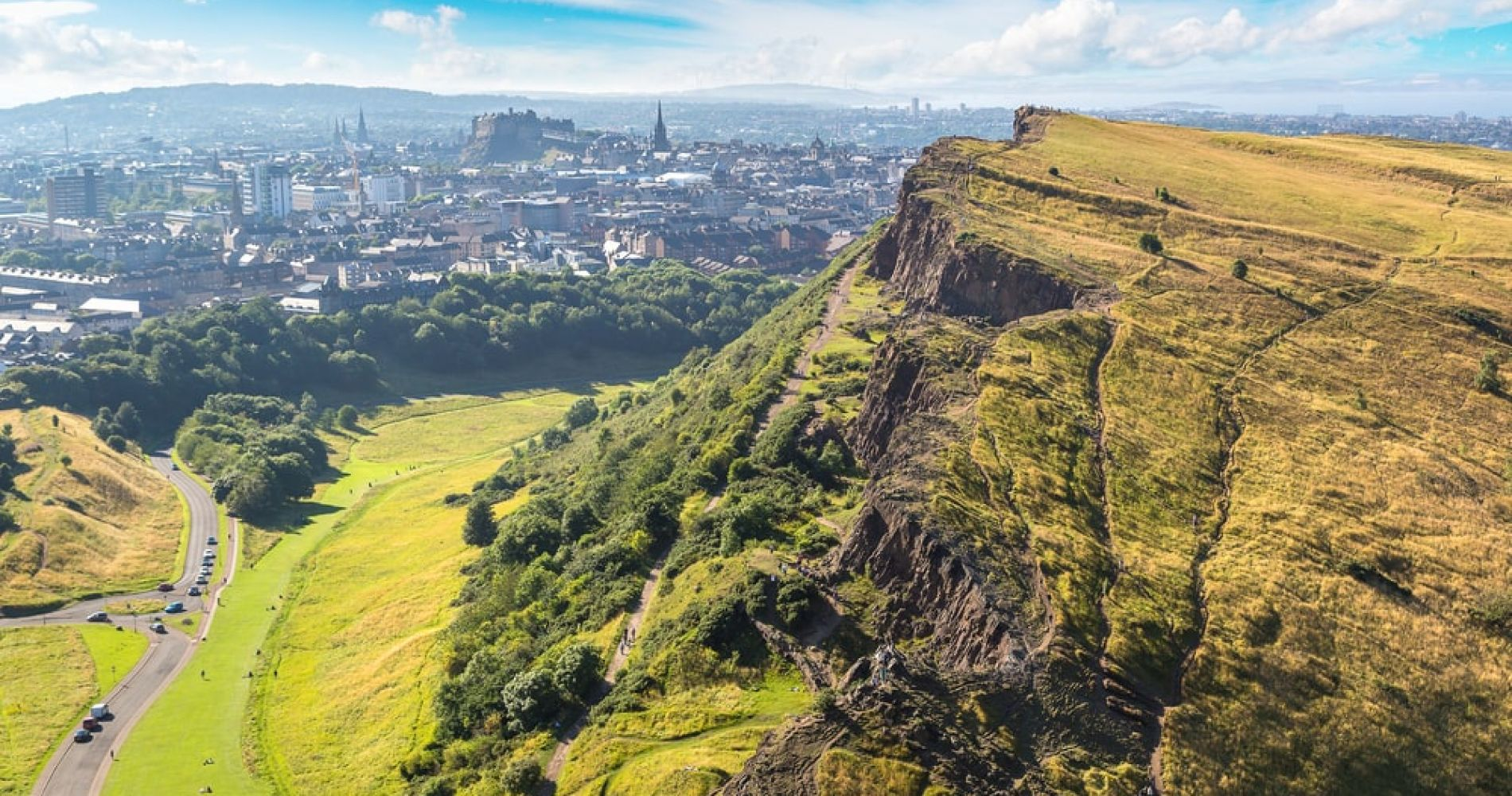 Hike up Arthur's Seat in Edinburgh