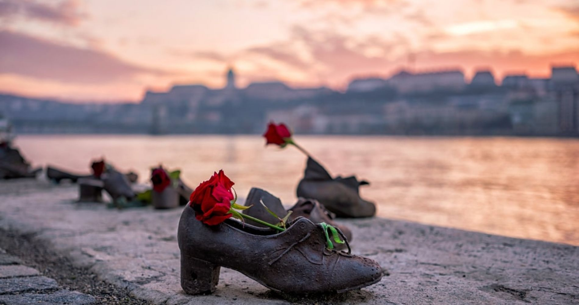 Visit the Shoes on the Danube Bank memorial in Budapest