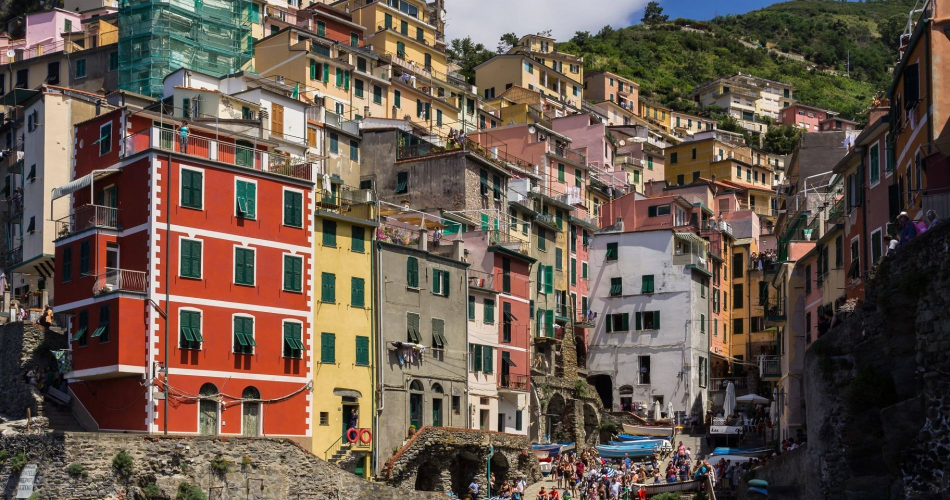 Hike Cinque Terre villages in Italy