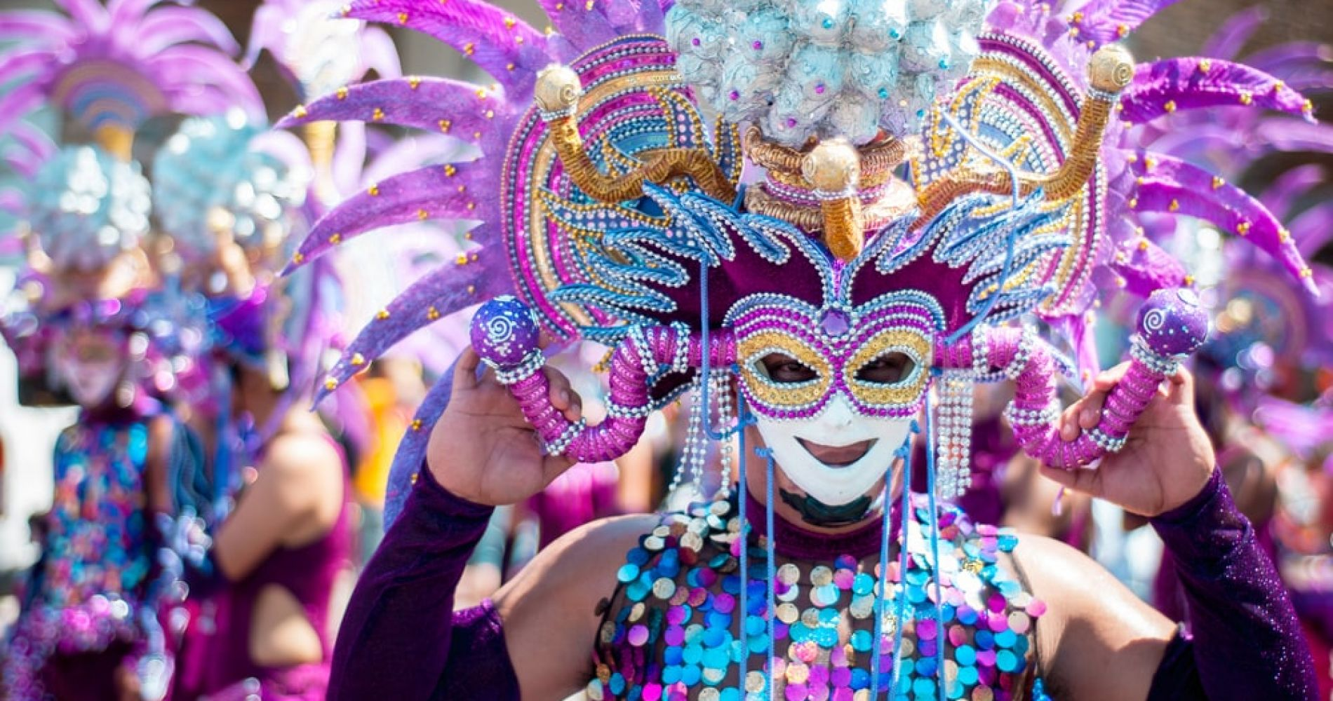 Participate in Mardi Gras Parade in New Orleans