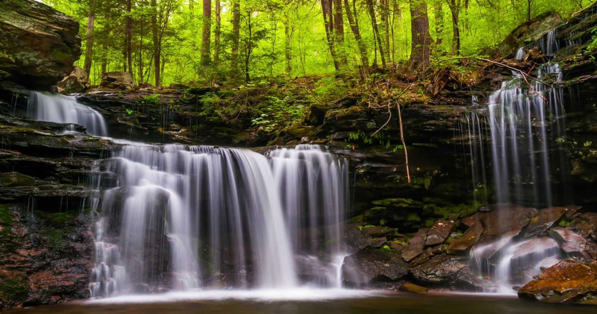 Visit Ricketts Glen State Park while in Pennsylvania