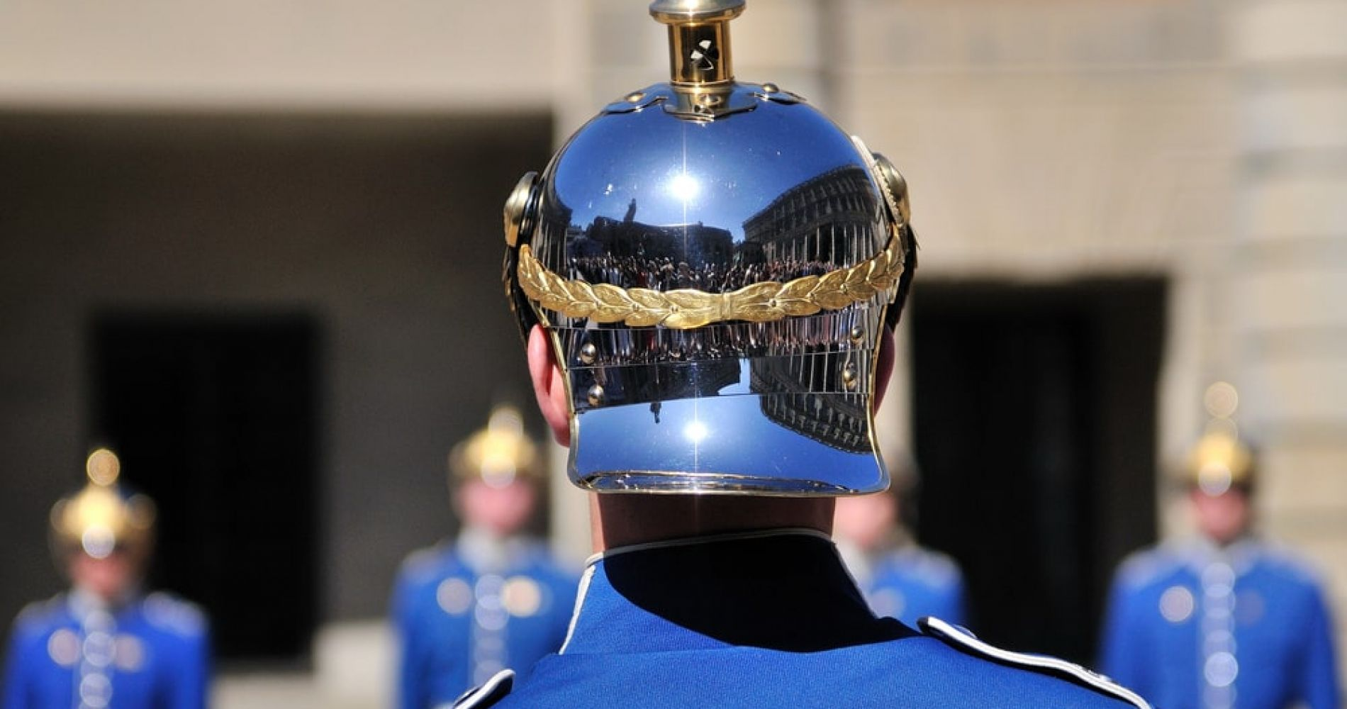 Watch the changing of the guards in Stockholm