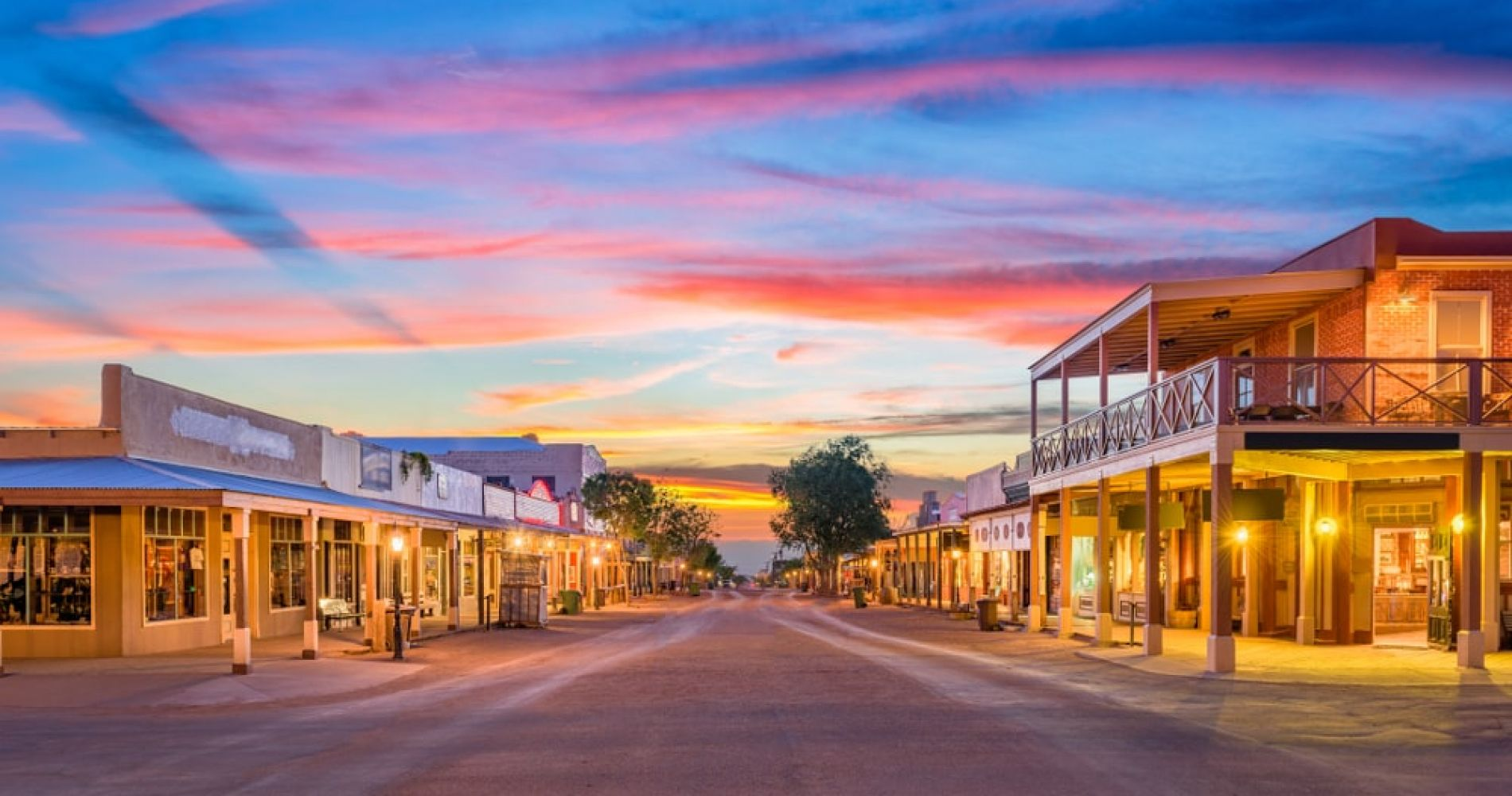 Travel in Time in Tombstone the Old Western Town in Arizona