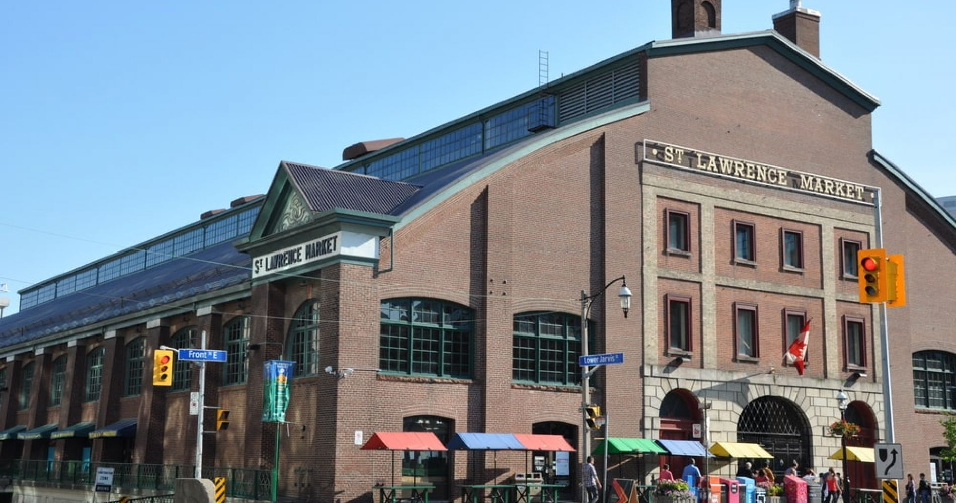 Visit St. Lawrence Market while in Toronto