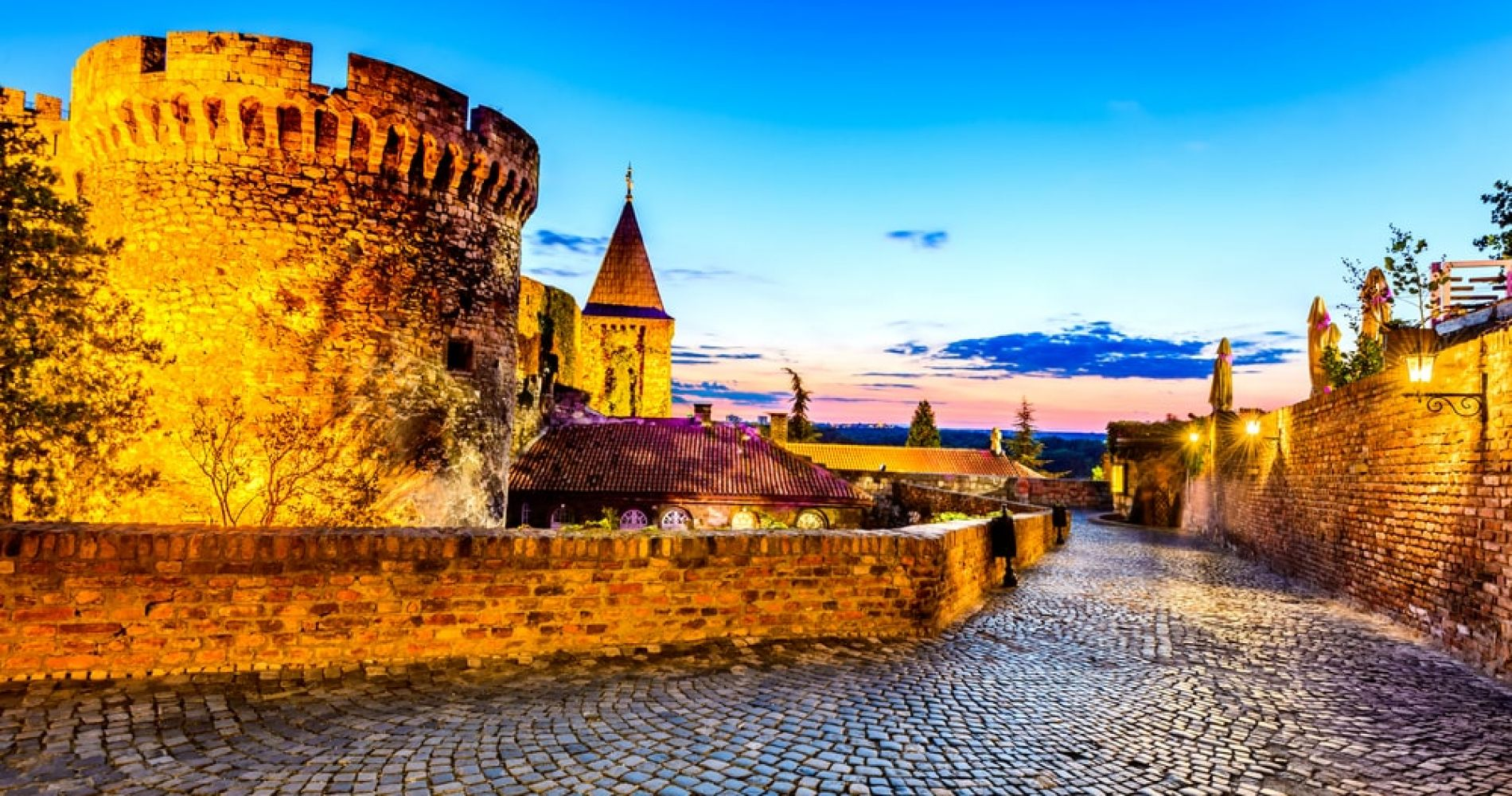 Visit Kalemegdan park and Belgrade fortress in Belgrad