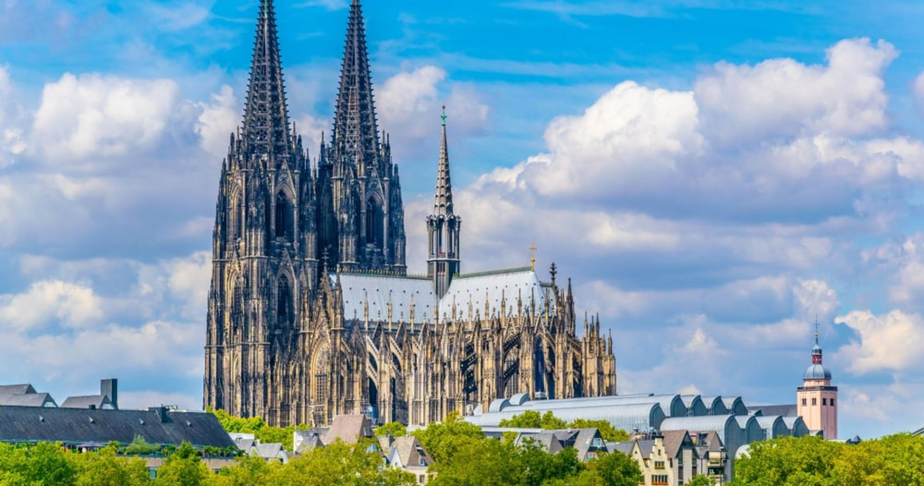 Visit the Cologne Cathedral in Germany