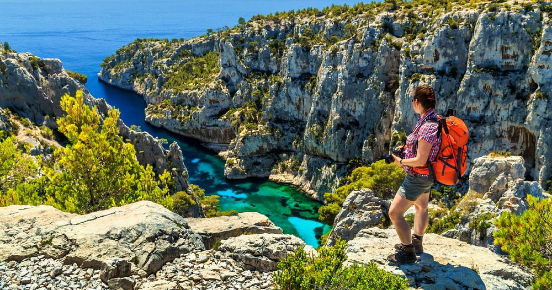 Hike in Parc National des Calanques near Marseille