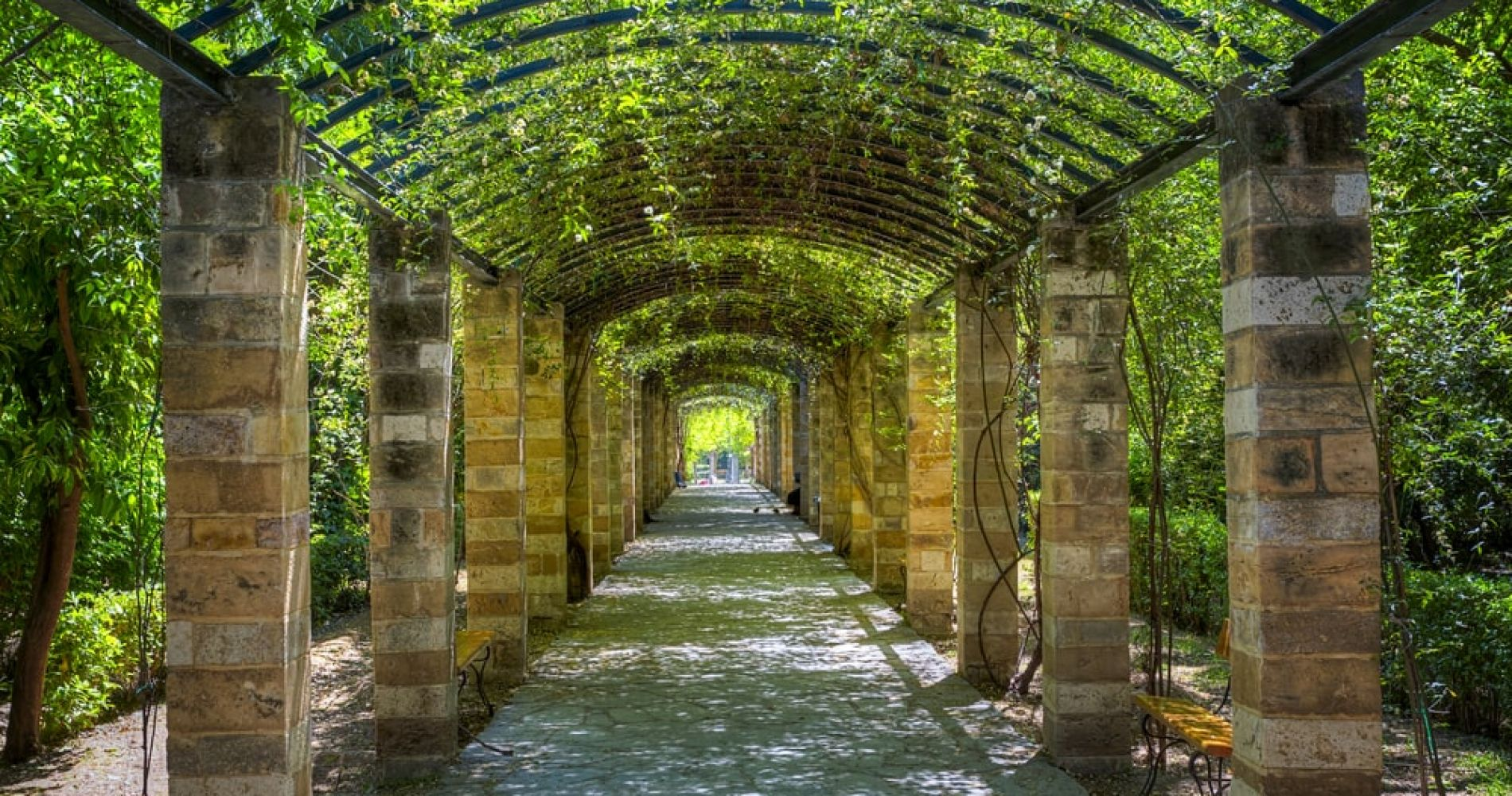 Explore the National Garden in Athens