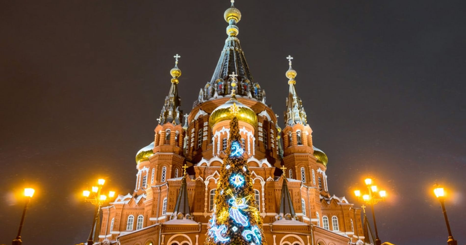 Admire St. Michael's Cathedral in Izhevsk