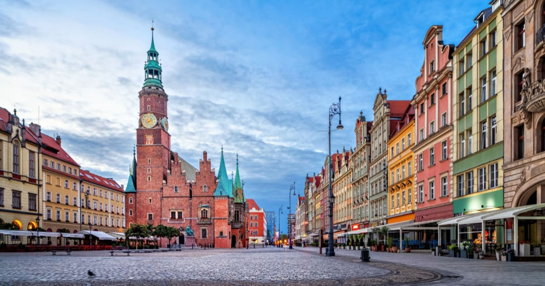 Visit the Market Square of Wroclaw