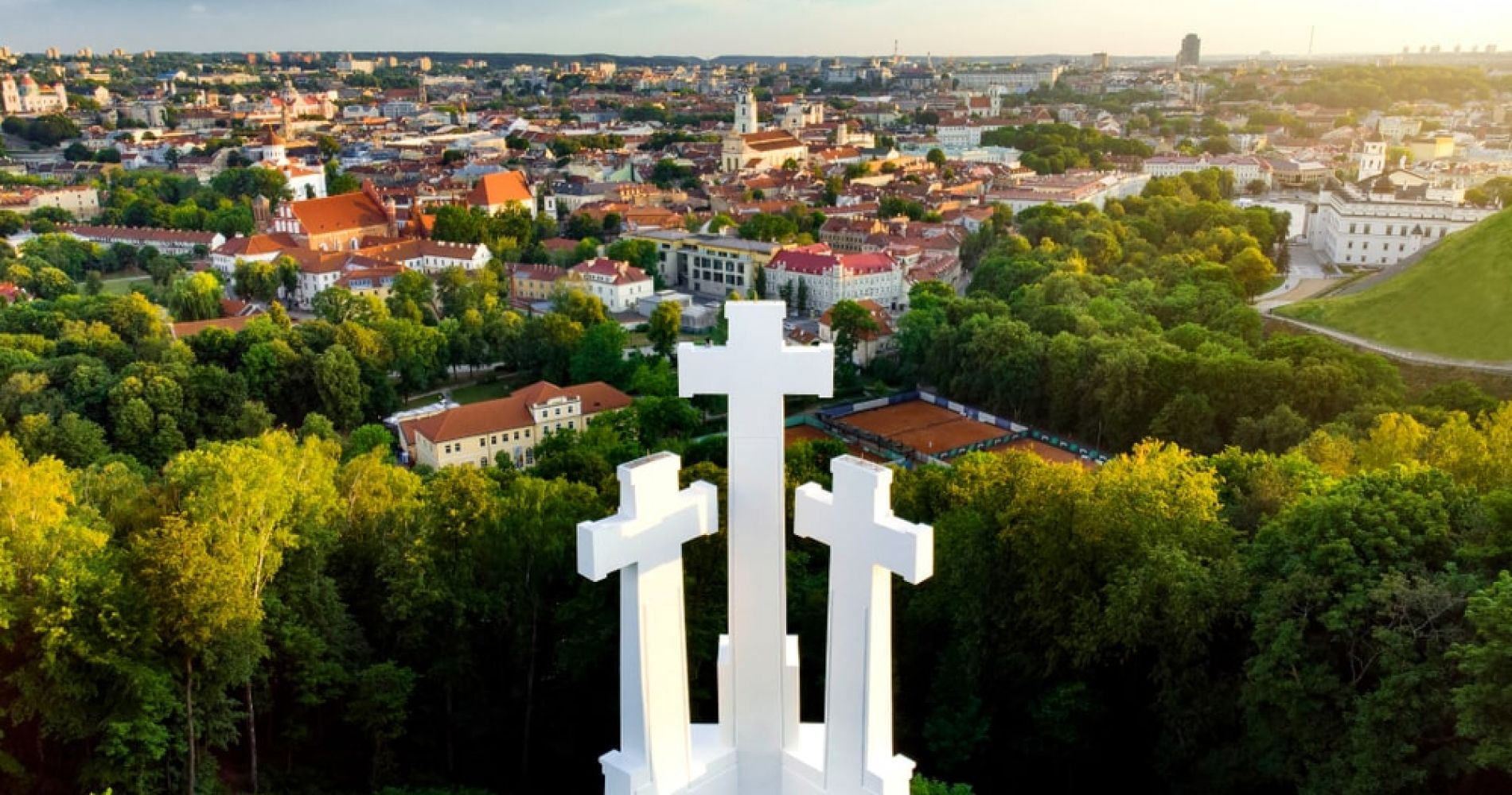Climb the Hills in Vilnius