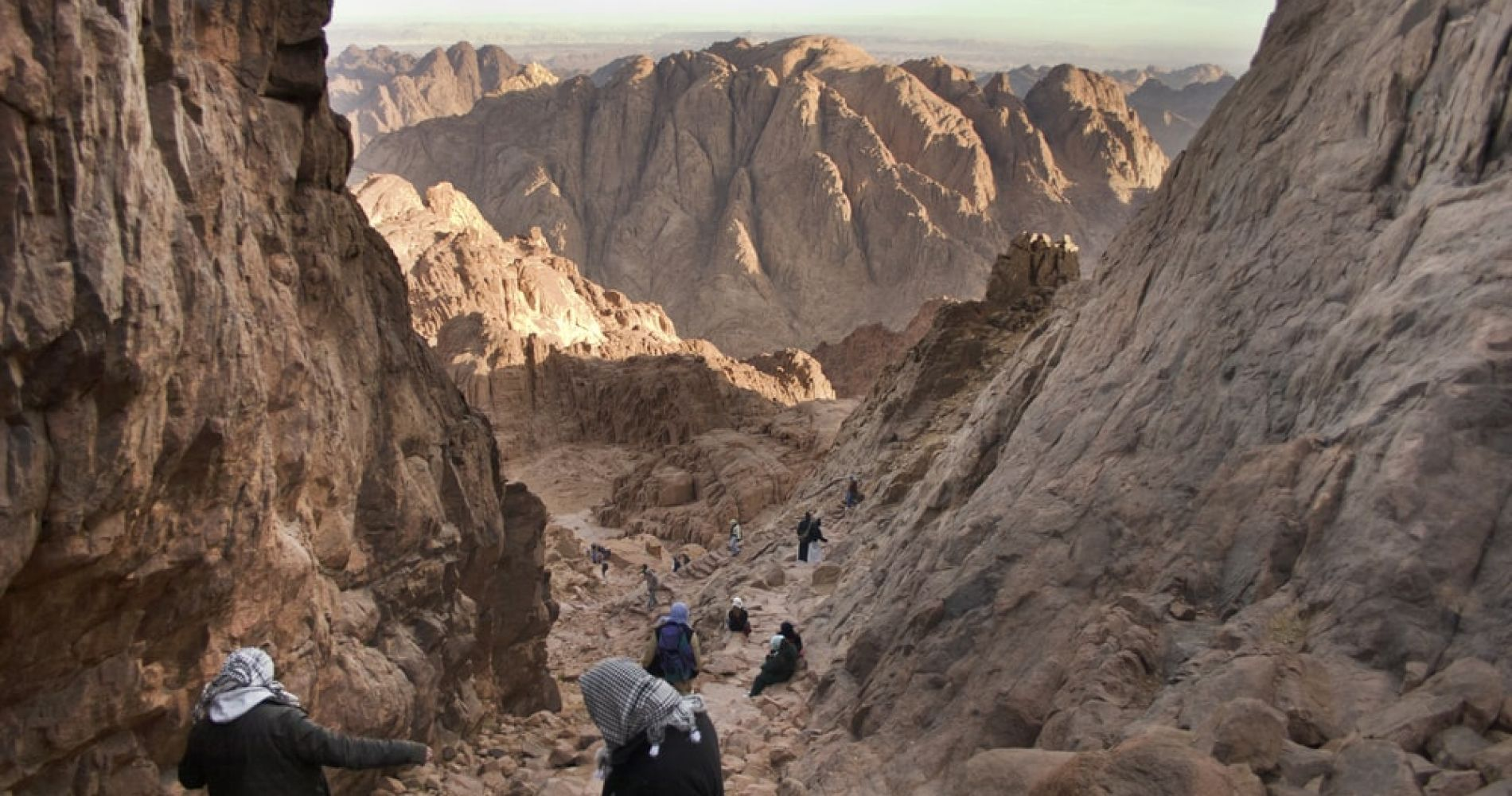 Hike to the Top of Mount Sinai