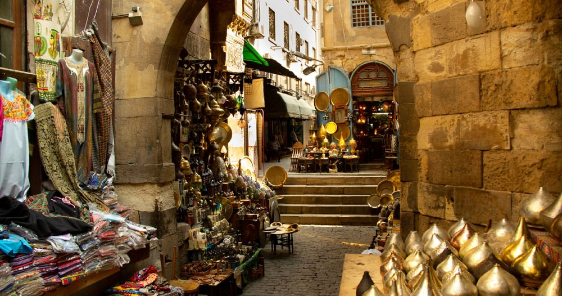 Explore the Khan el-Khalili Bazaar in Cairo