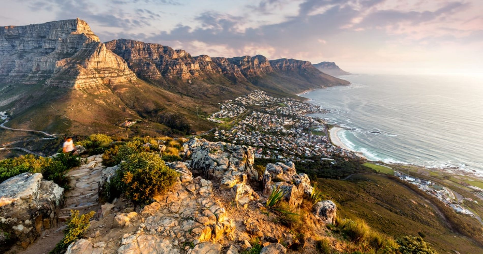 Hike the Table Mountain Range in Cape Town