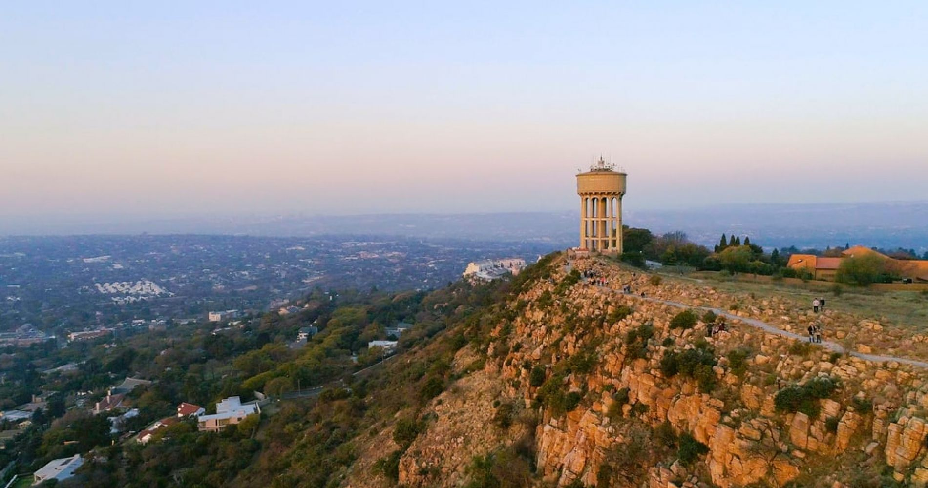 Catch the Sunset from the Northcliff Hill in Johannesburg