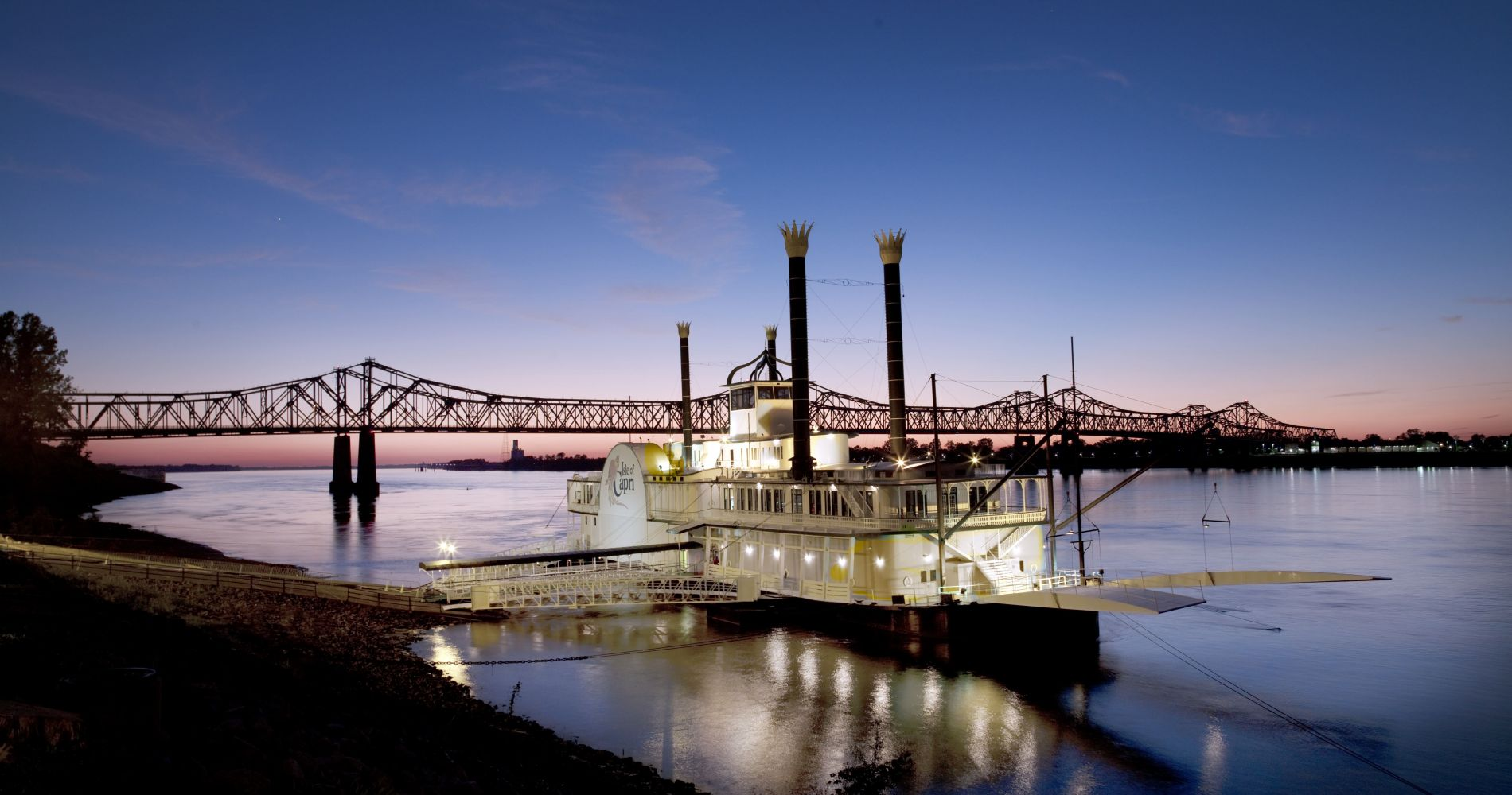 New Orleans Jazz Cruise with Dinner for Two