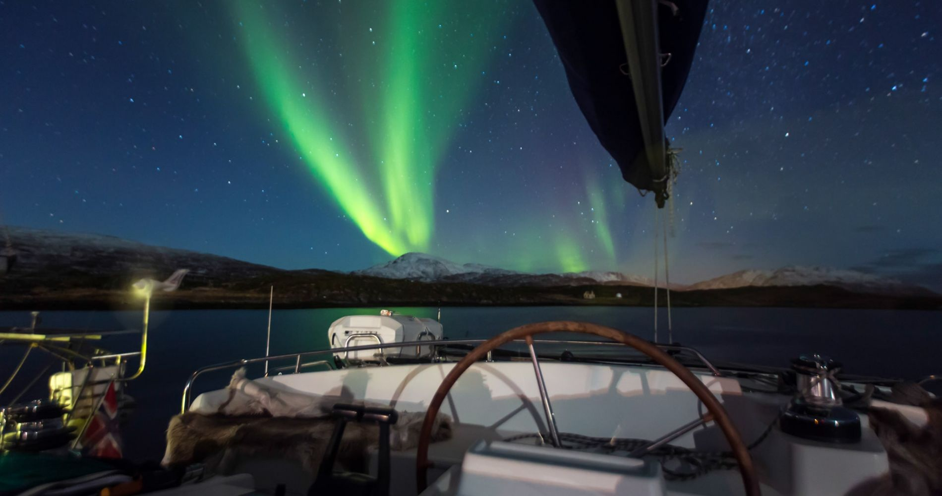 Northern Lights Sailing in Norway