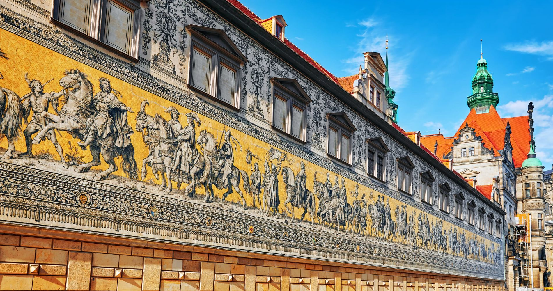 Explore the Procession of Princes in Dresden
