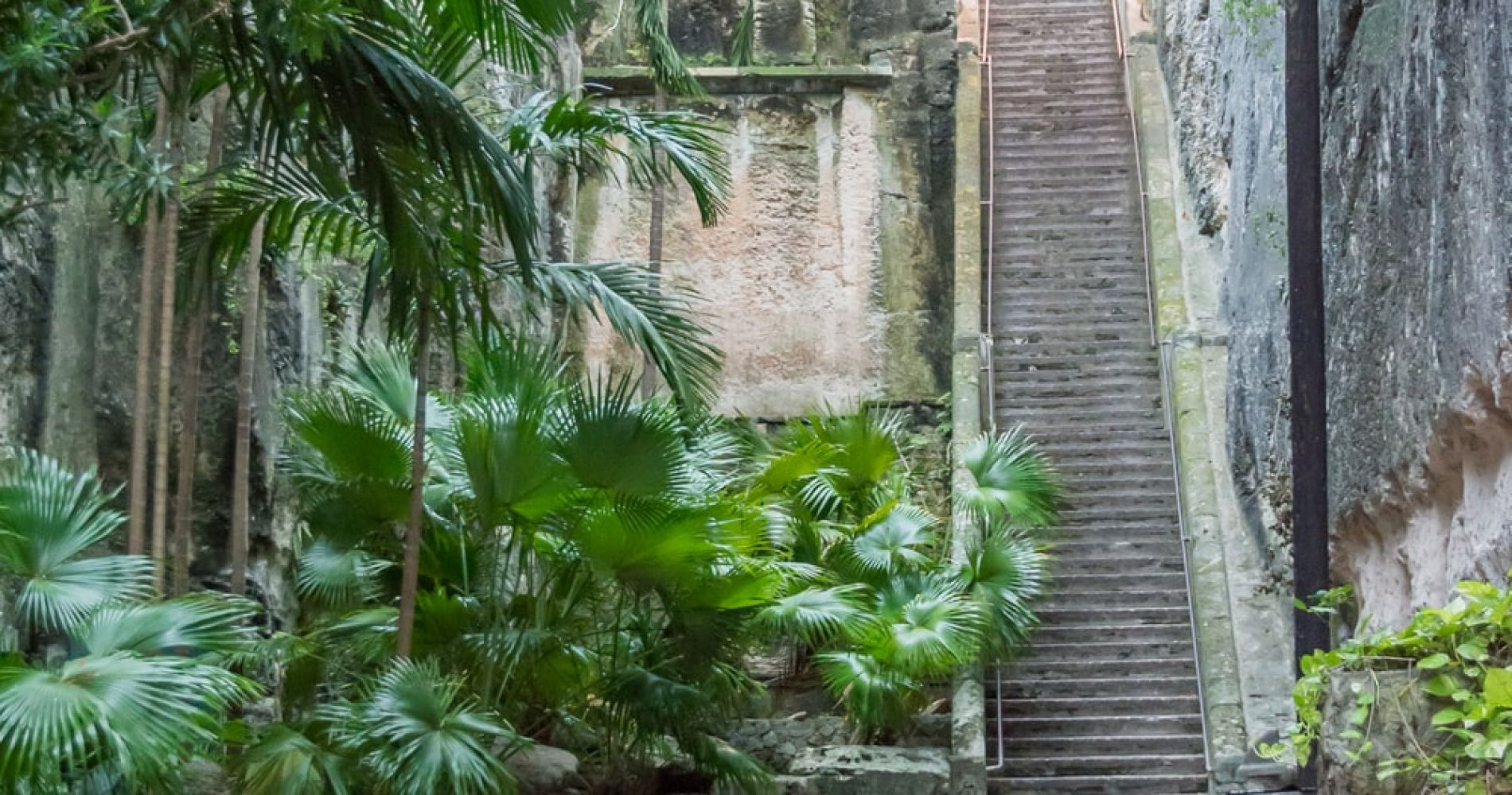 Climb the Queen's Staircase in Nassau