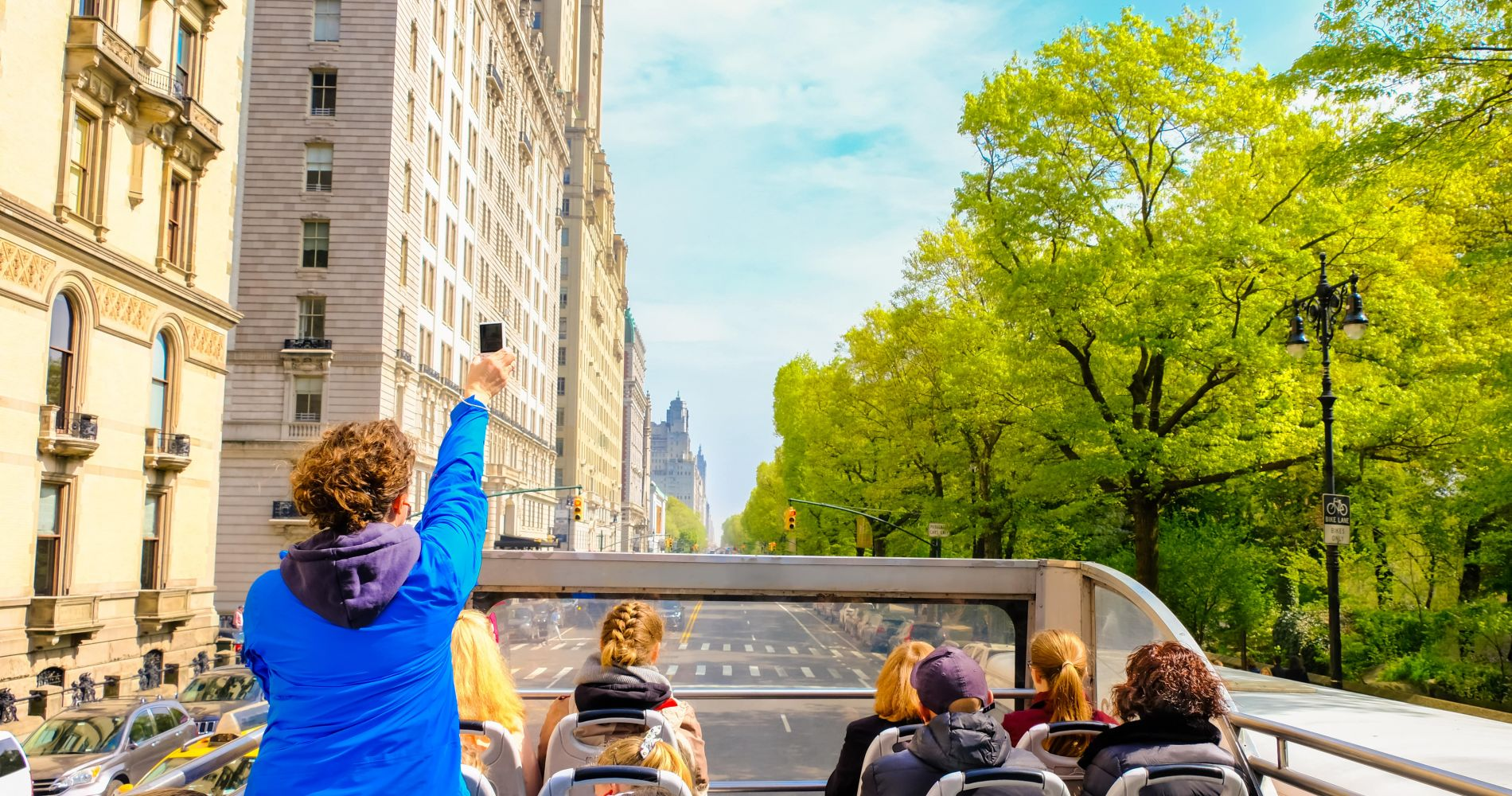 Visit New York attractions with Hop-On Hop-Off Big Bus New York