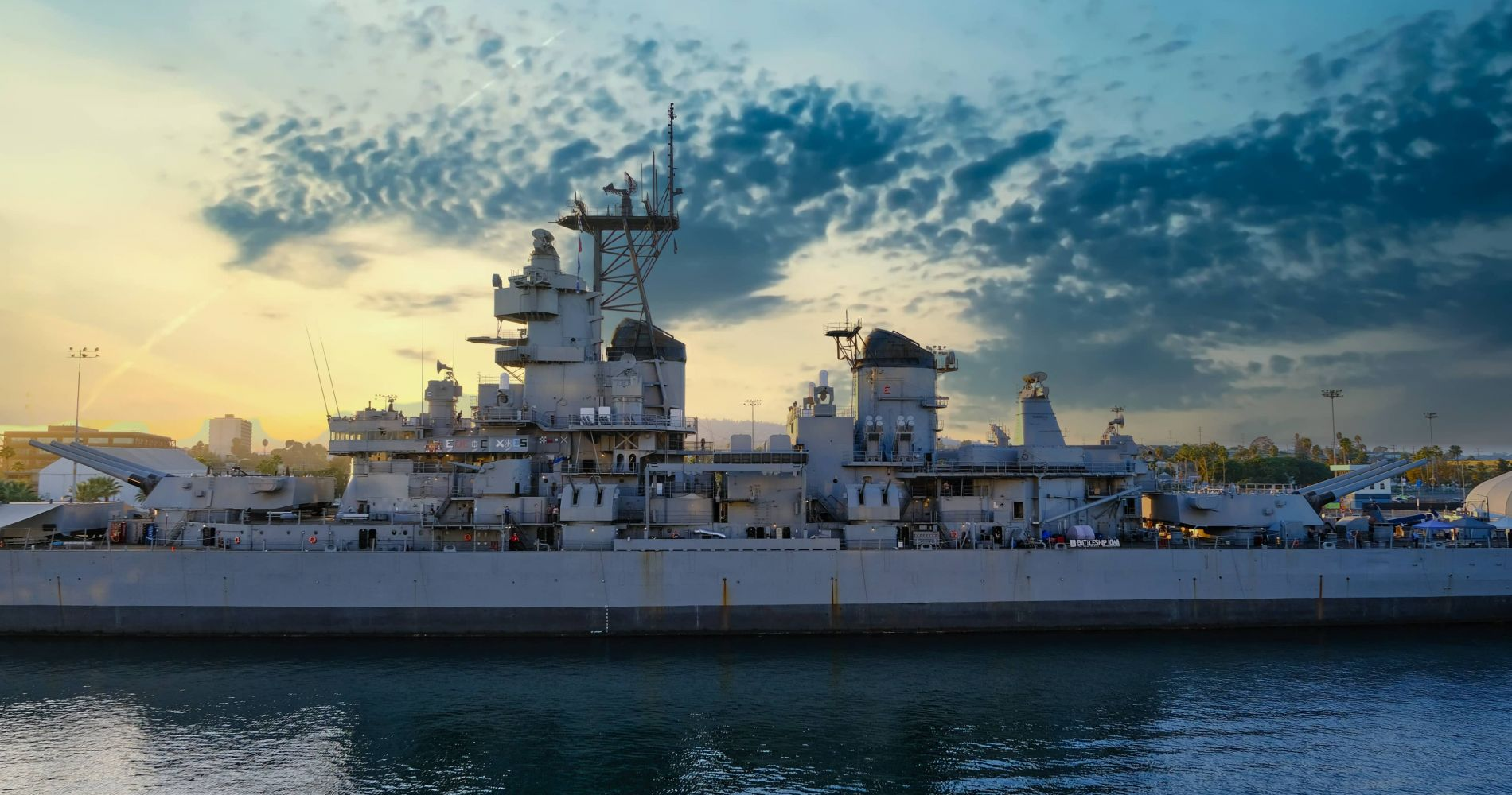 Battleship IOWA Museum and other attractions in LA