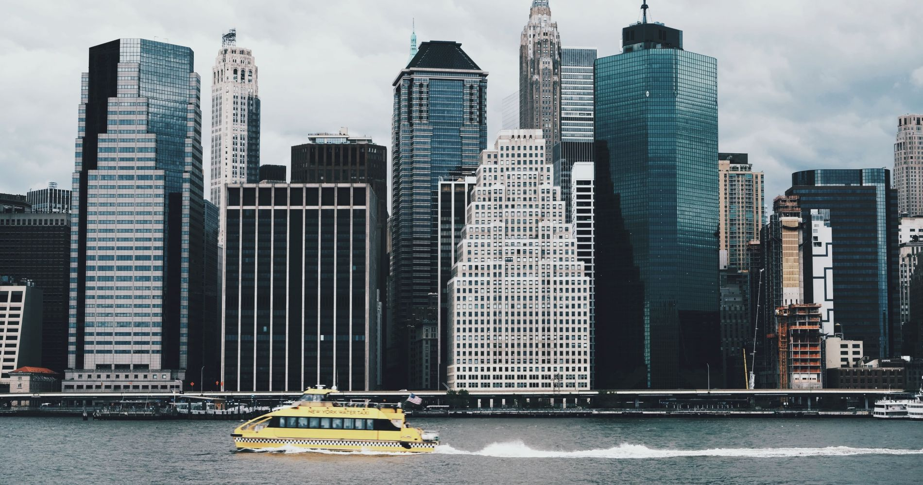 Visit the main attractions with New York Water Taxi