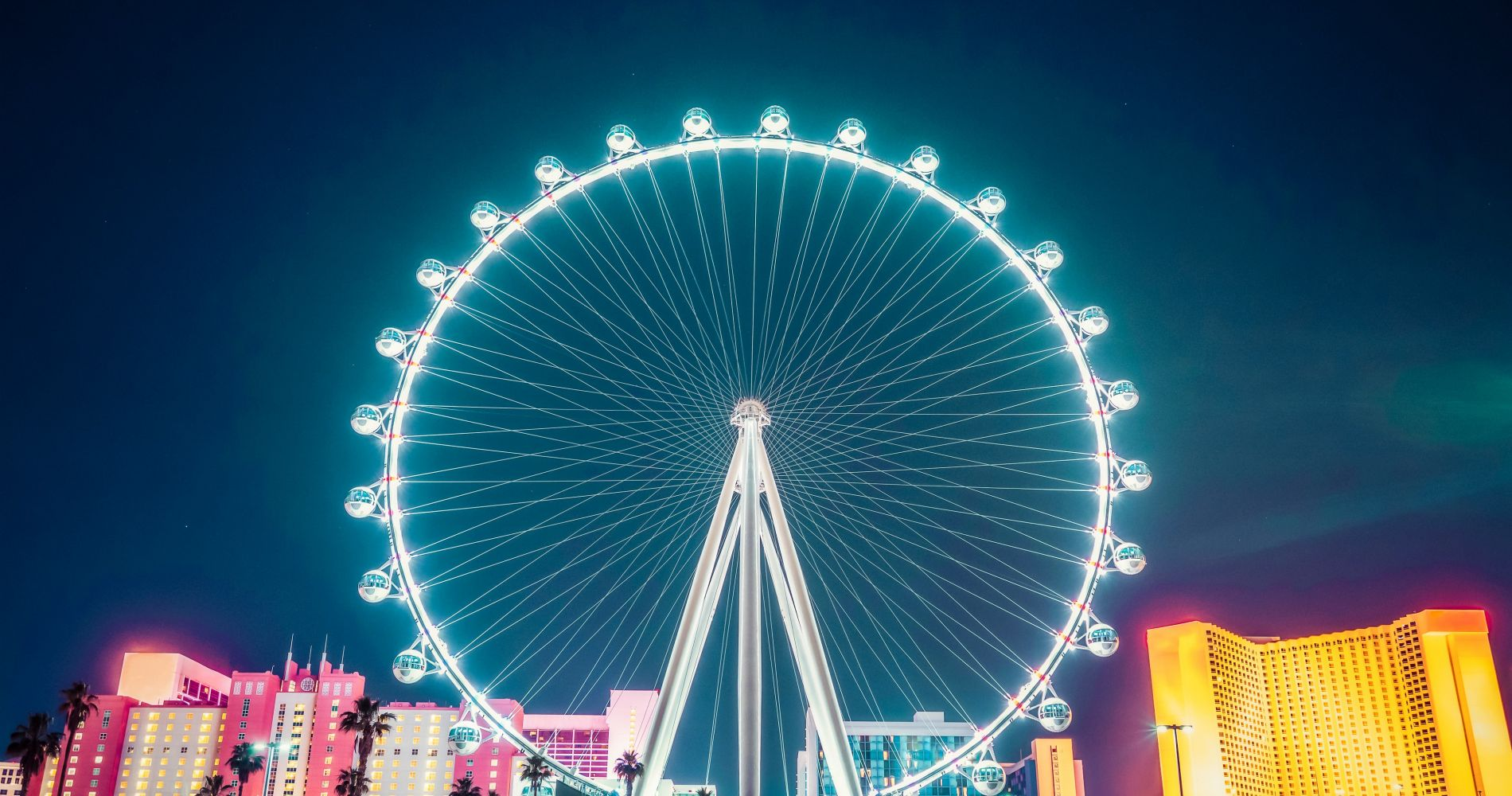 Ticket to High Observation Wheel and other attractions