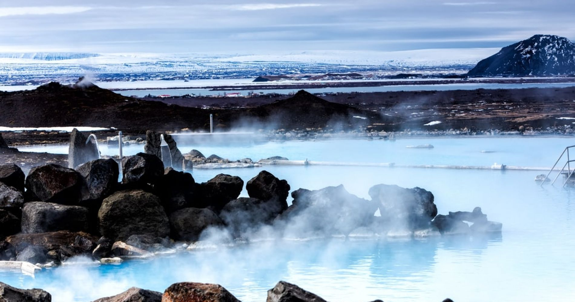 Myvatn Nature Baths Entrance Ticket for Two in Iceland