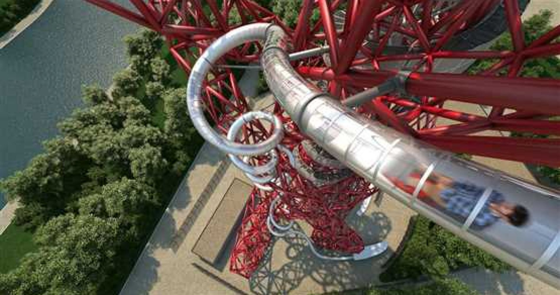 The Slide at ArcelorMittal Orbit and Bottle of Prosecco for Two