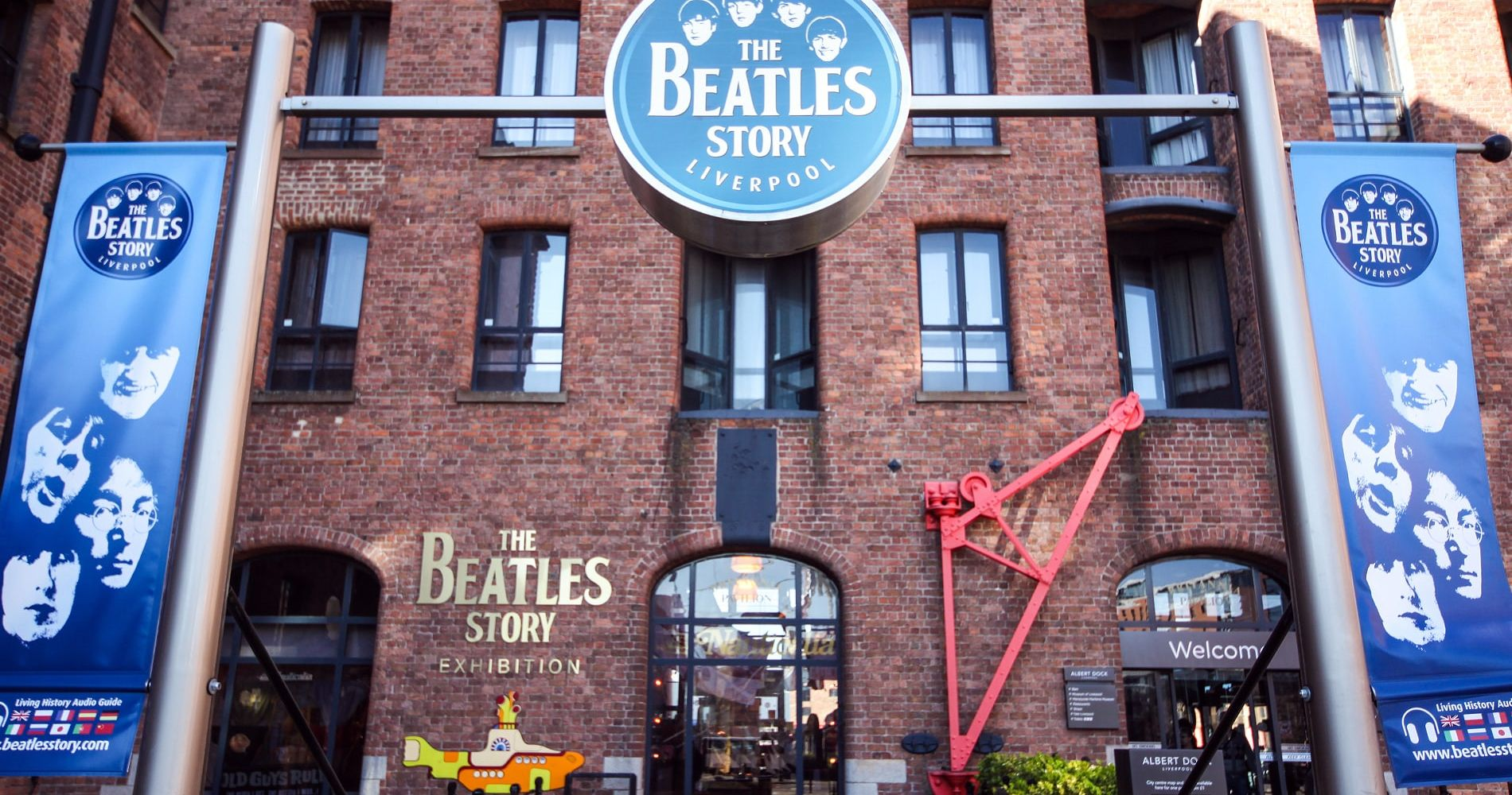Beatles Story & 3-Course Meal at The R BAR & BRASSERIE for Two