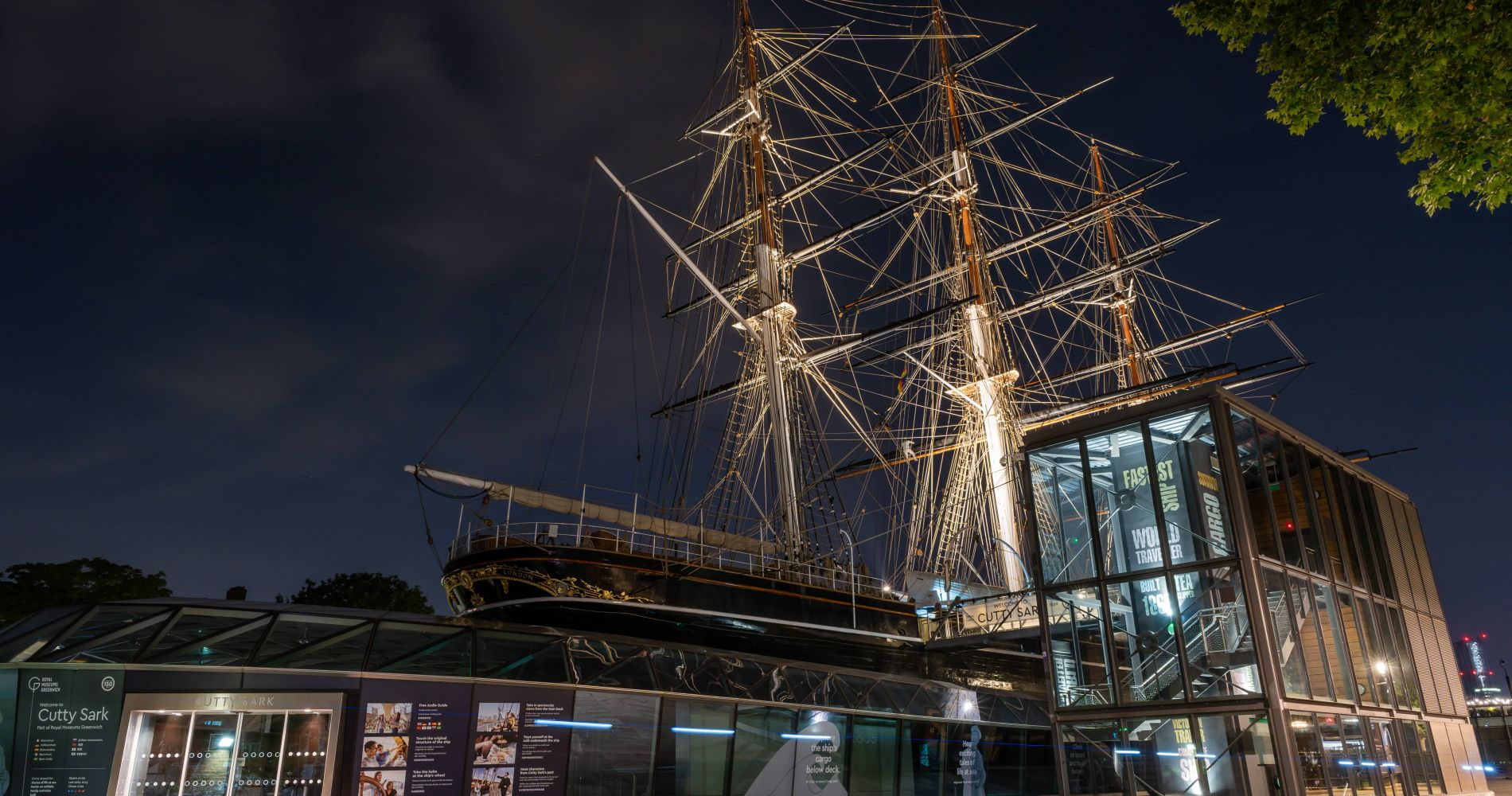 Cutty Sark with Afternoon Tea and a Hop On Hop Off River Pass for Two