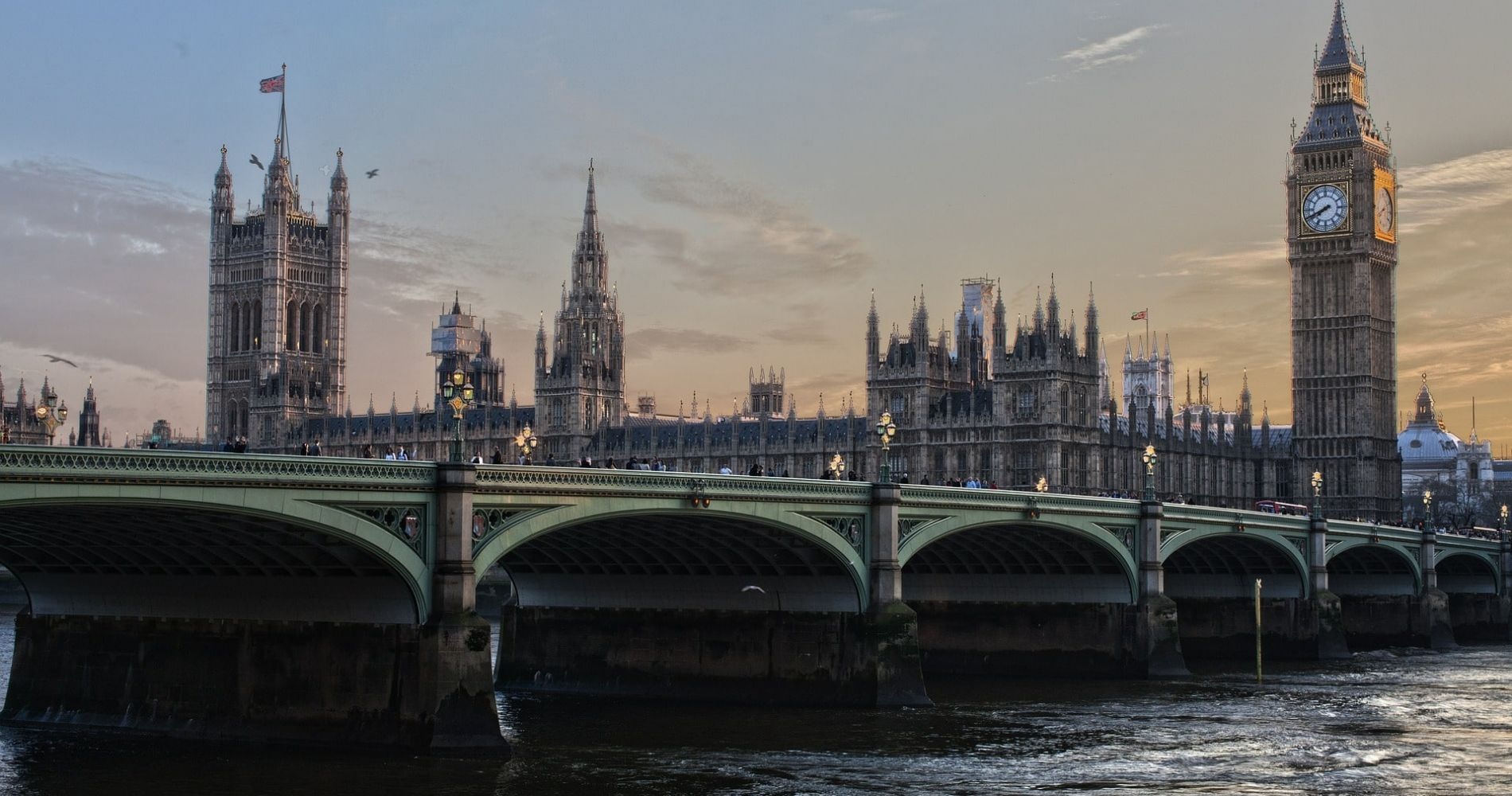 Houses of Parliament, Afternoon Tea at the Park Plaza County Hall and River Cruise for Two