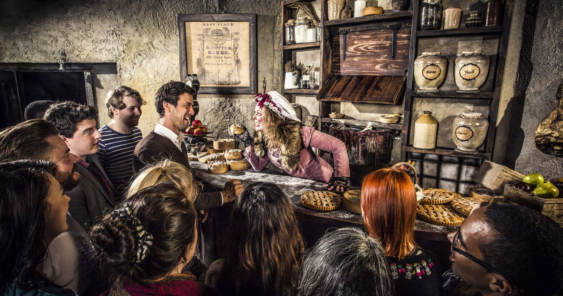 London Dungeon & 2 course meal at Bubba Gump for Two