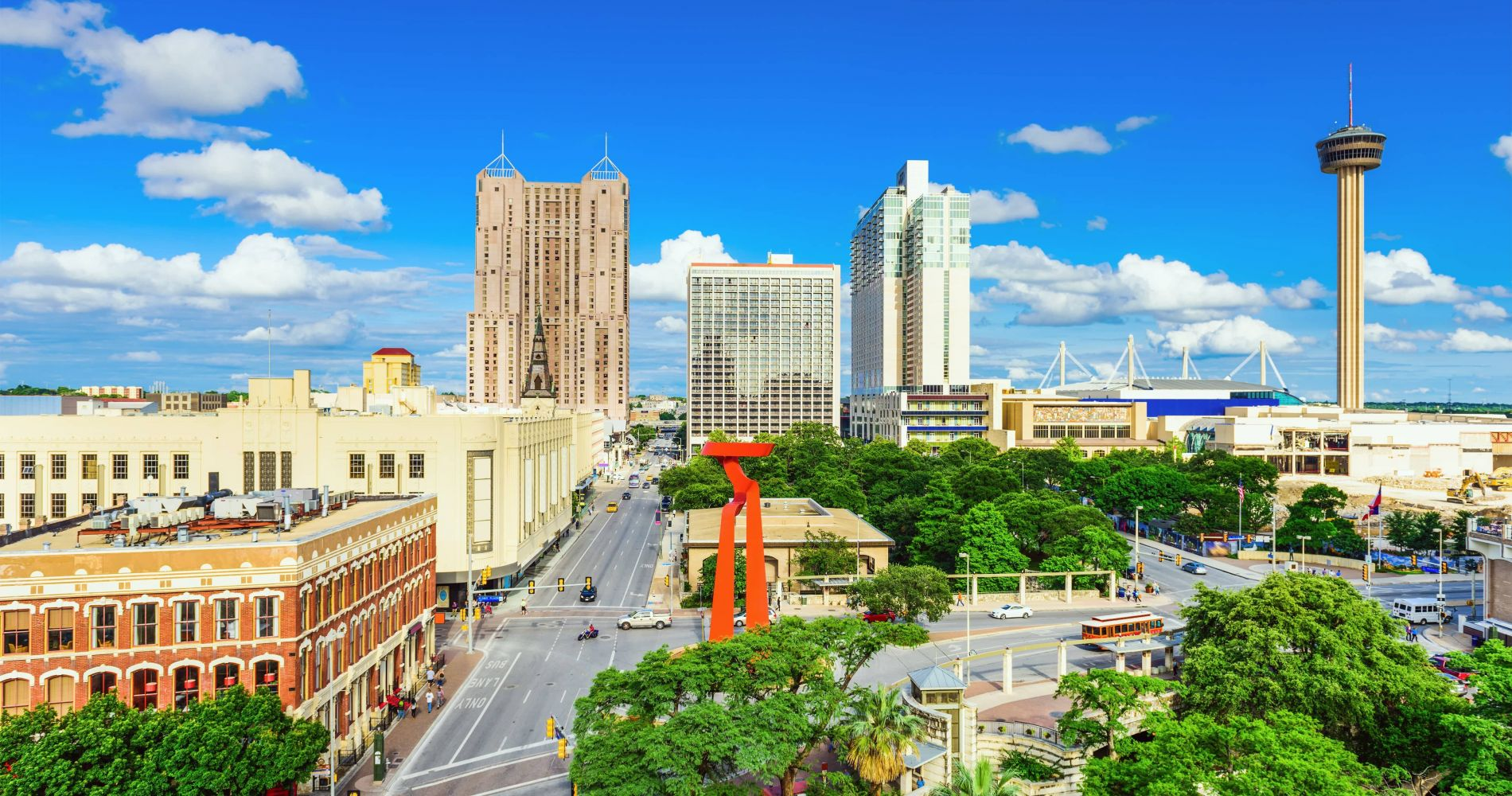 San Antonio Main Attractions with City Sightseeing Hop-On Hop-Off Tour