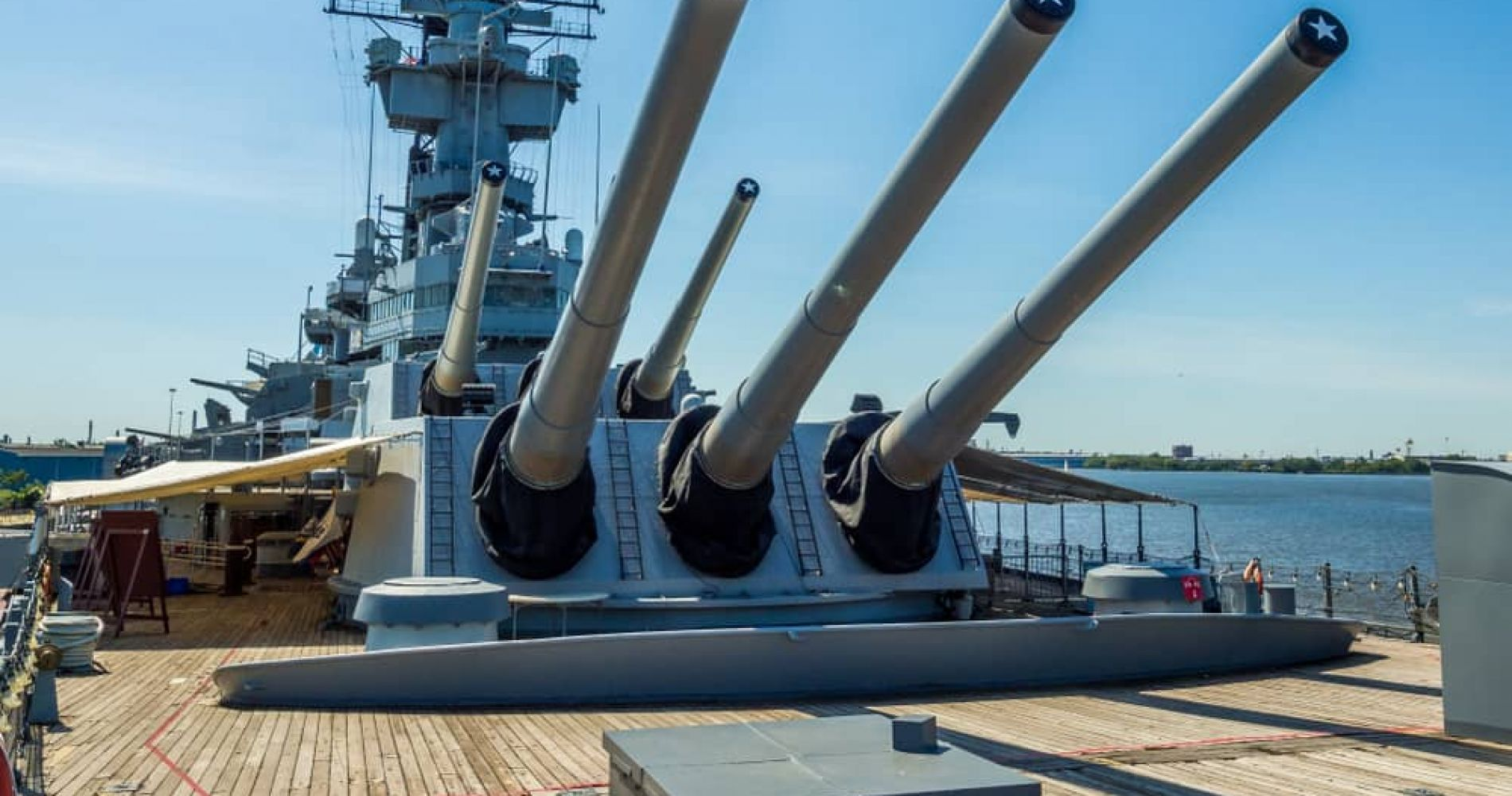 Battleship New Jersey Museum & Memorial and other attractions