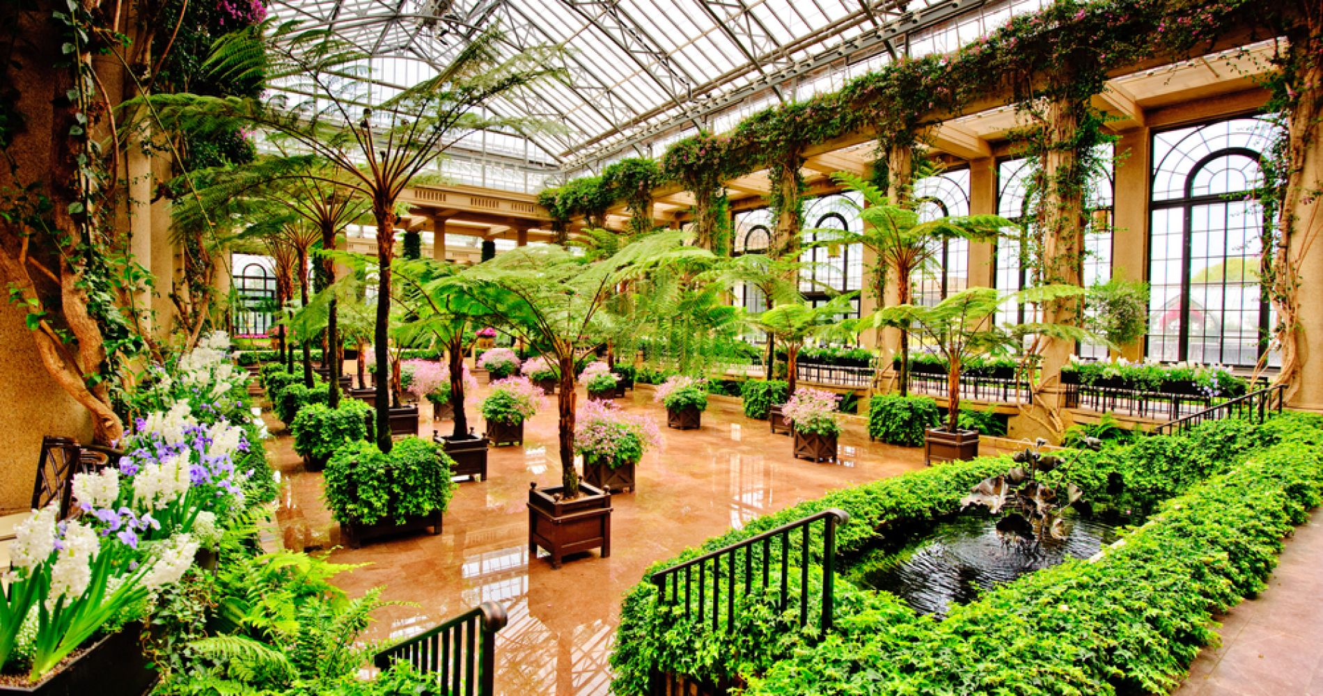 Longwood Gardens and other attractions in Philadelphia